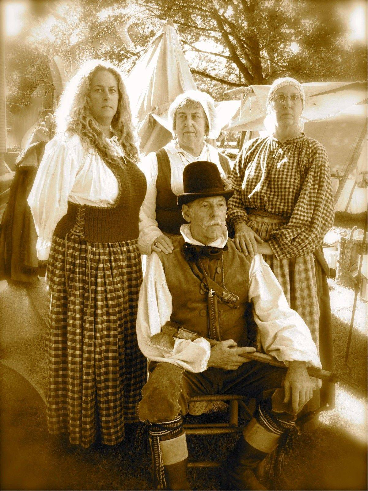 DuPage Valley Settlers will return to their camp in Bartlett, taking visitors back to the 1830s.