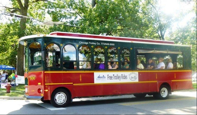 The Bartlett Heritage Days trolley history tours will be more frequent at this year's festival.