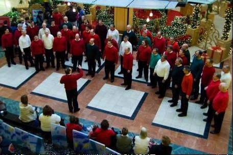 A Sept. 7 concert by The New Tradition Chorus is planned for an upcoming Brainerd building fundraiser.