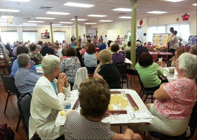Nearly 100 people attended the Palatine Township Senior Citizens Council's anniversary celebration and open house Friday Aug. 23.