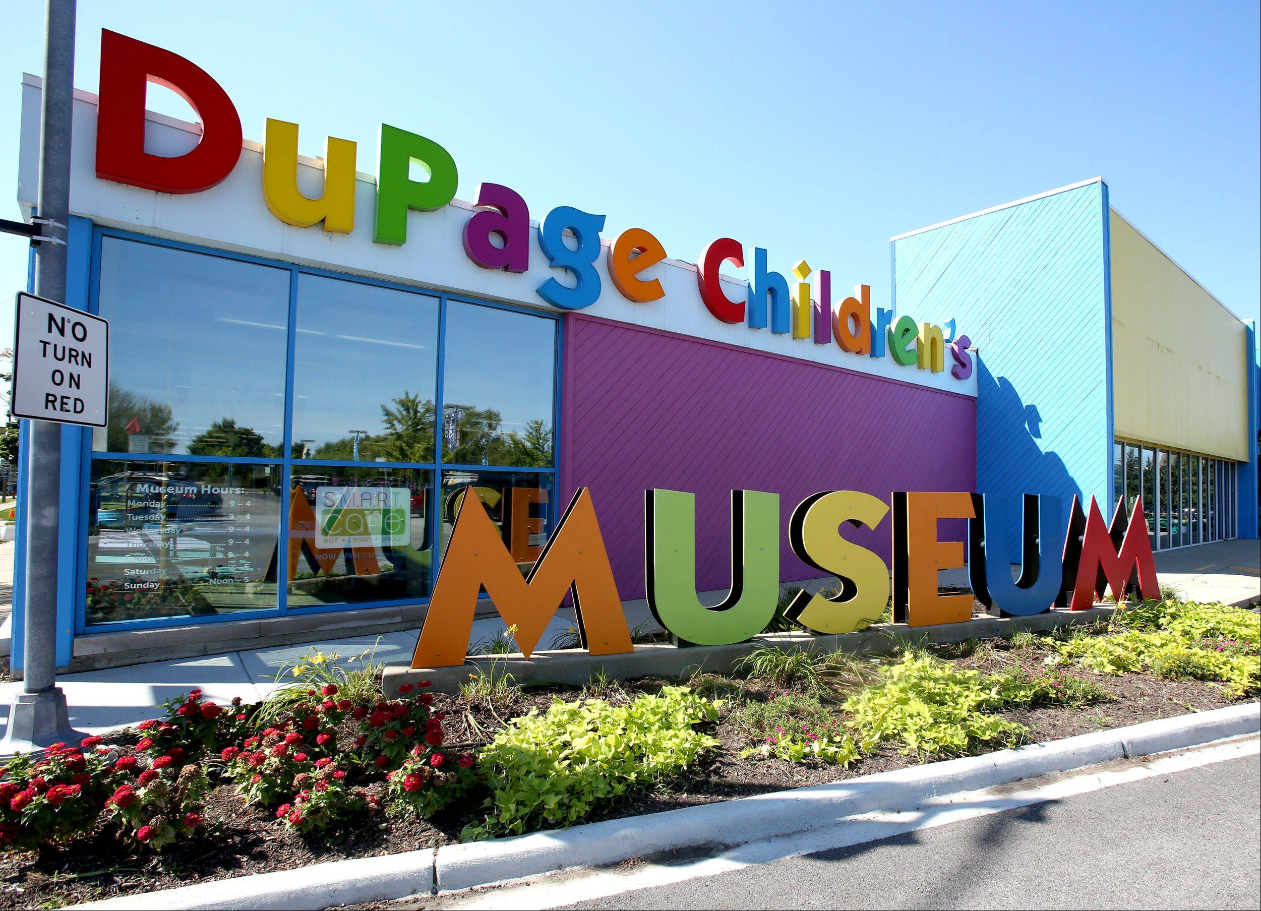 The DuPage Children�s Museum has committed to clean up landscaping that had gone to weeds this summer. Cleanup began Tuesday while the museum is closed until Wednesday, Sept. 11 for its annual maintenance period.