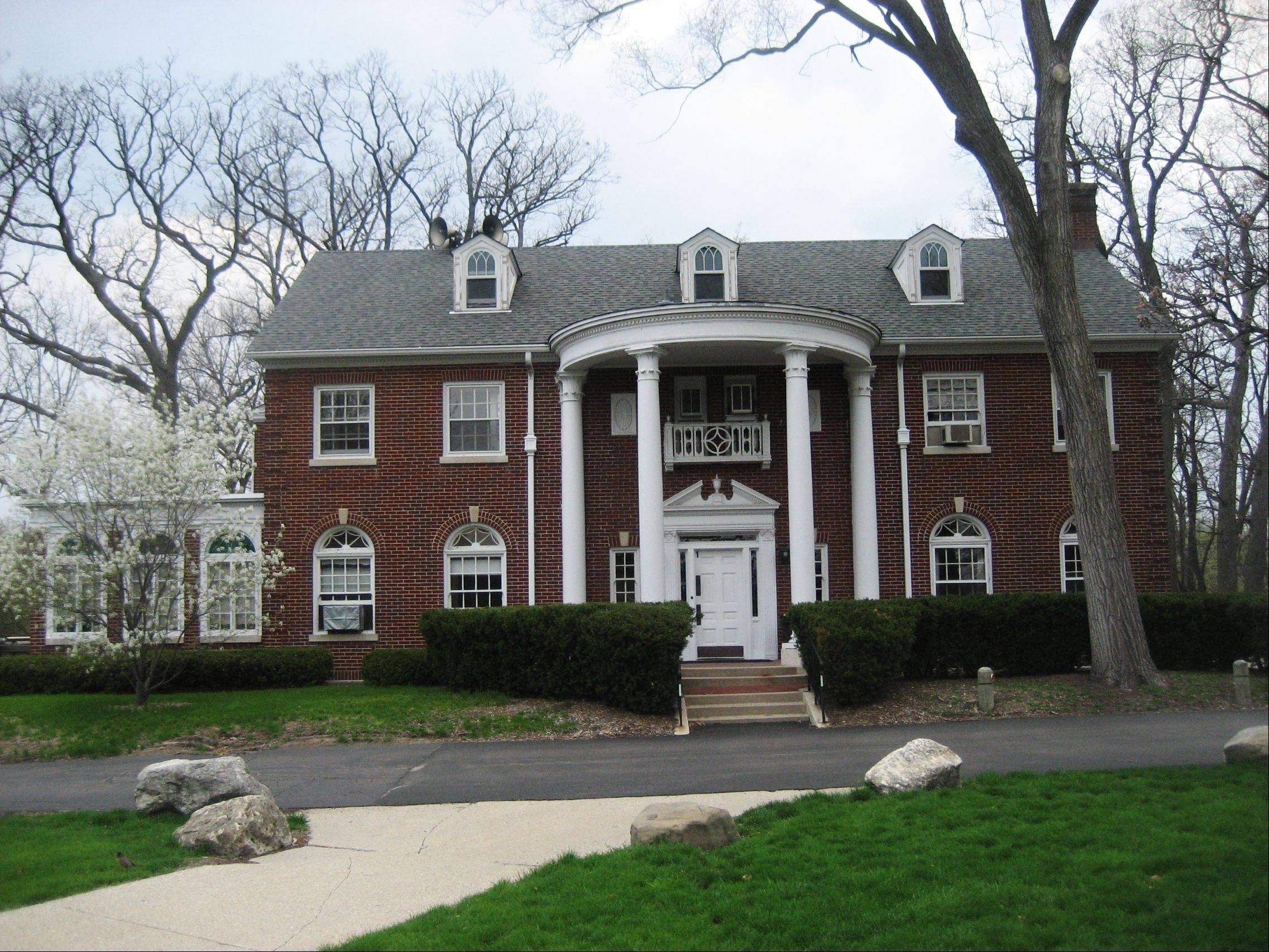 The Harm Weber Building at Judson University in Elgin will be featured on Saturday�s house tour.