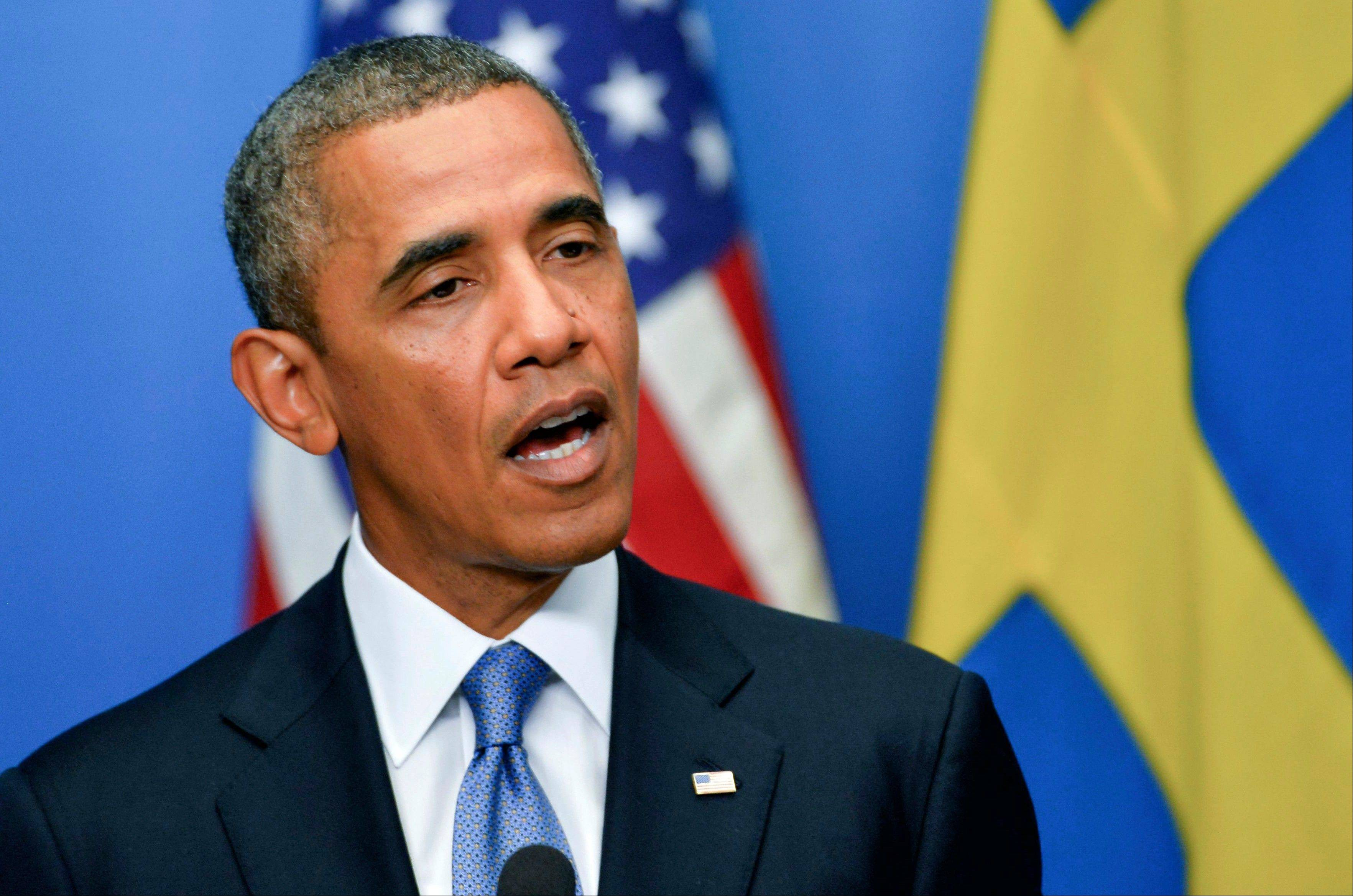 In Sweden, Obama to showcase common global goals