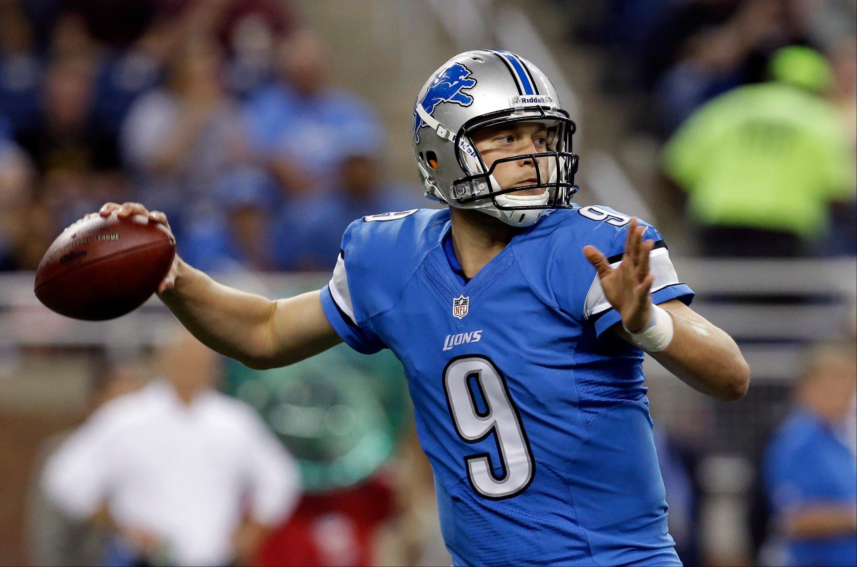 Detroit Lions quarterback Matthew Stafford has thrown for over 10,000 yards over the last two seasons, but he ended last season with an eight-game losing streak