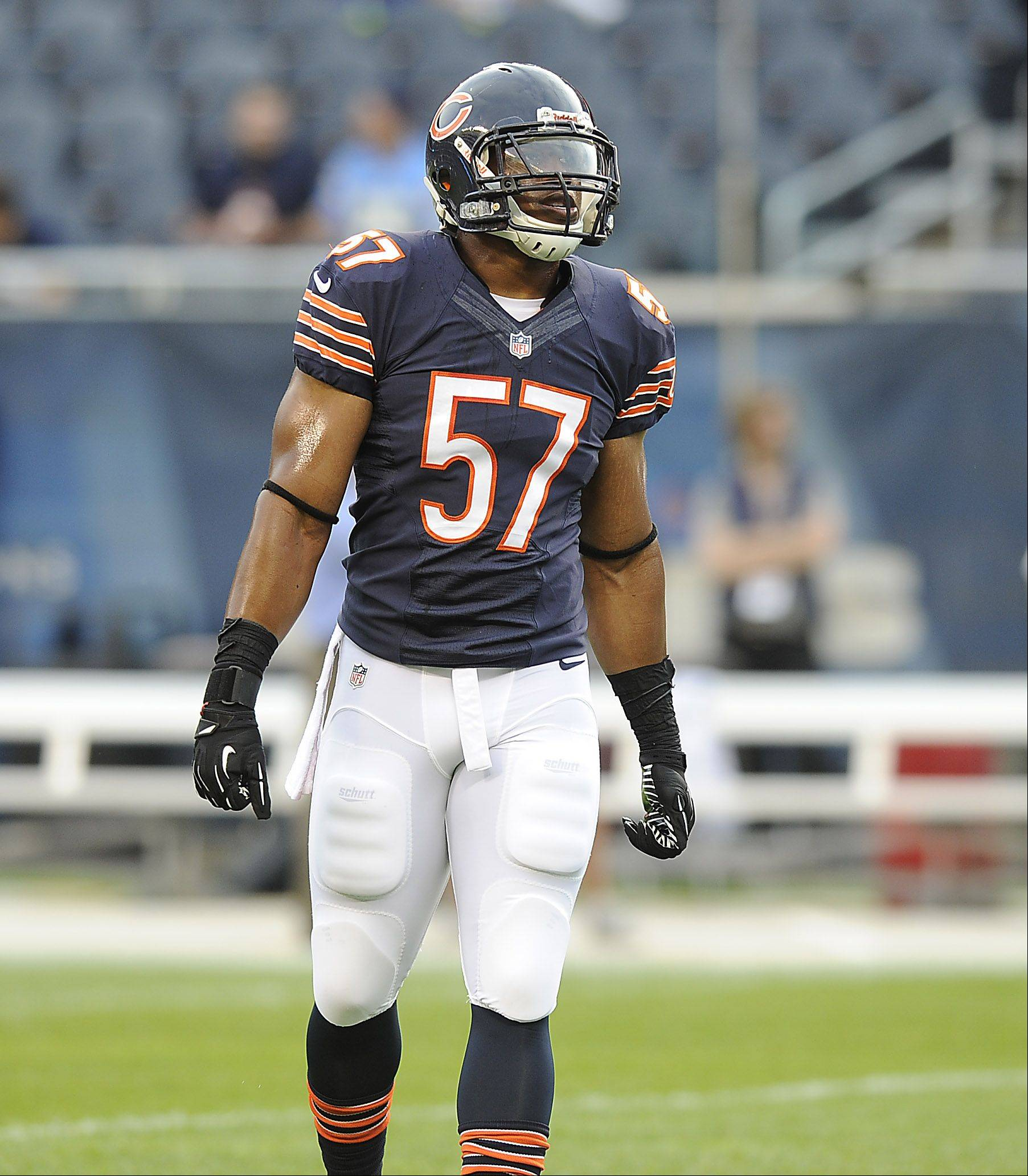 If the Bears don't start rookie Jonathan Bostic at middle linebacker on Sunday, he will see a lot of action on special teams.