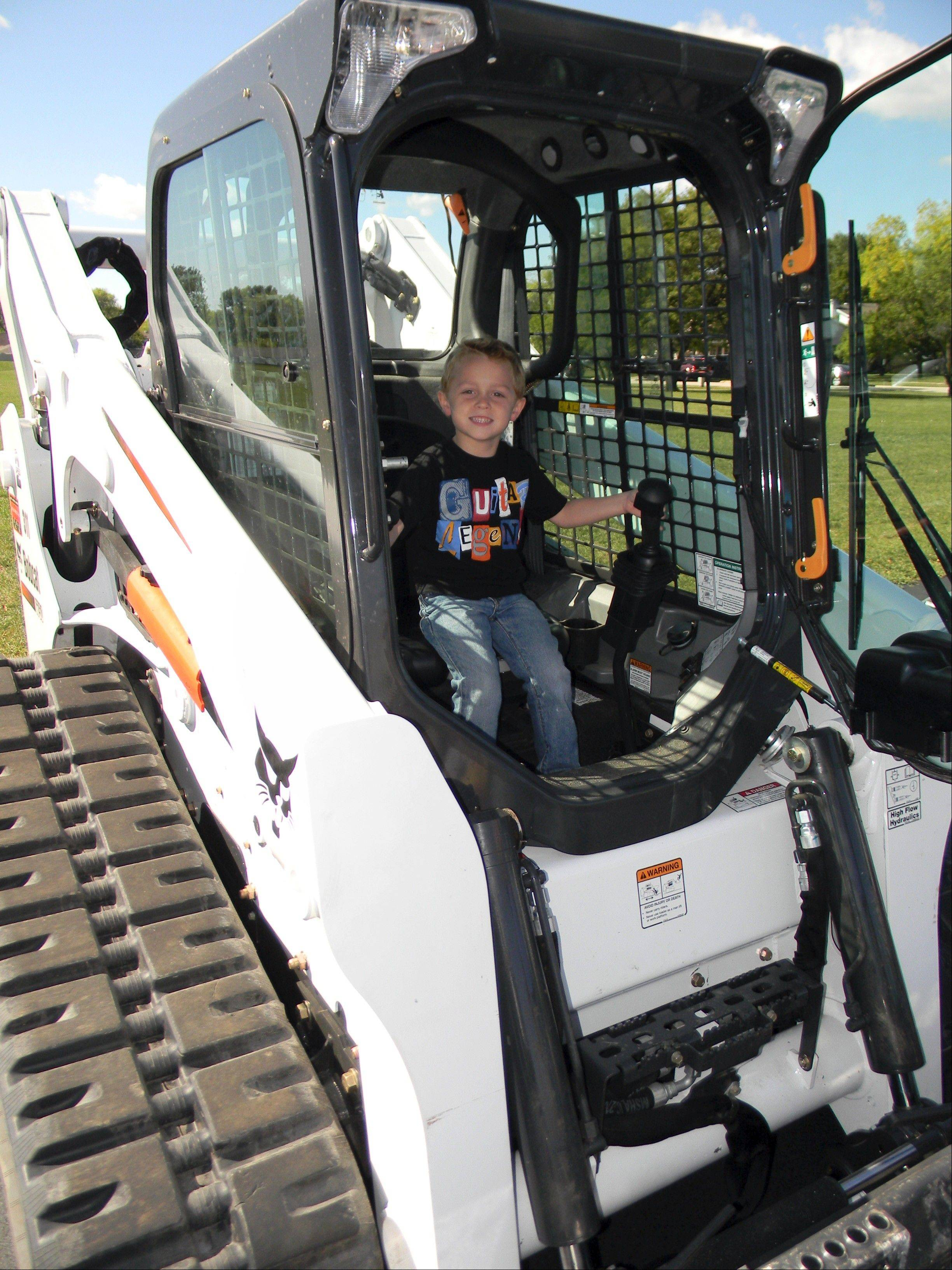 Youngsters can get an up-close look at dump trucks, fire trucks and more at the Elk Grove Park District's Touch A Truck Day event.