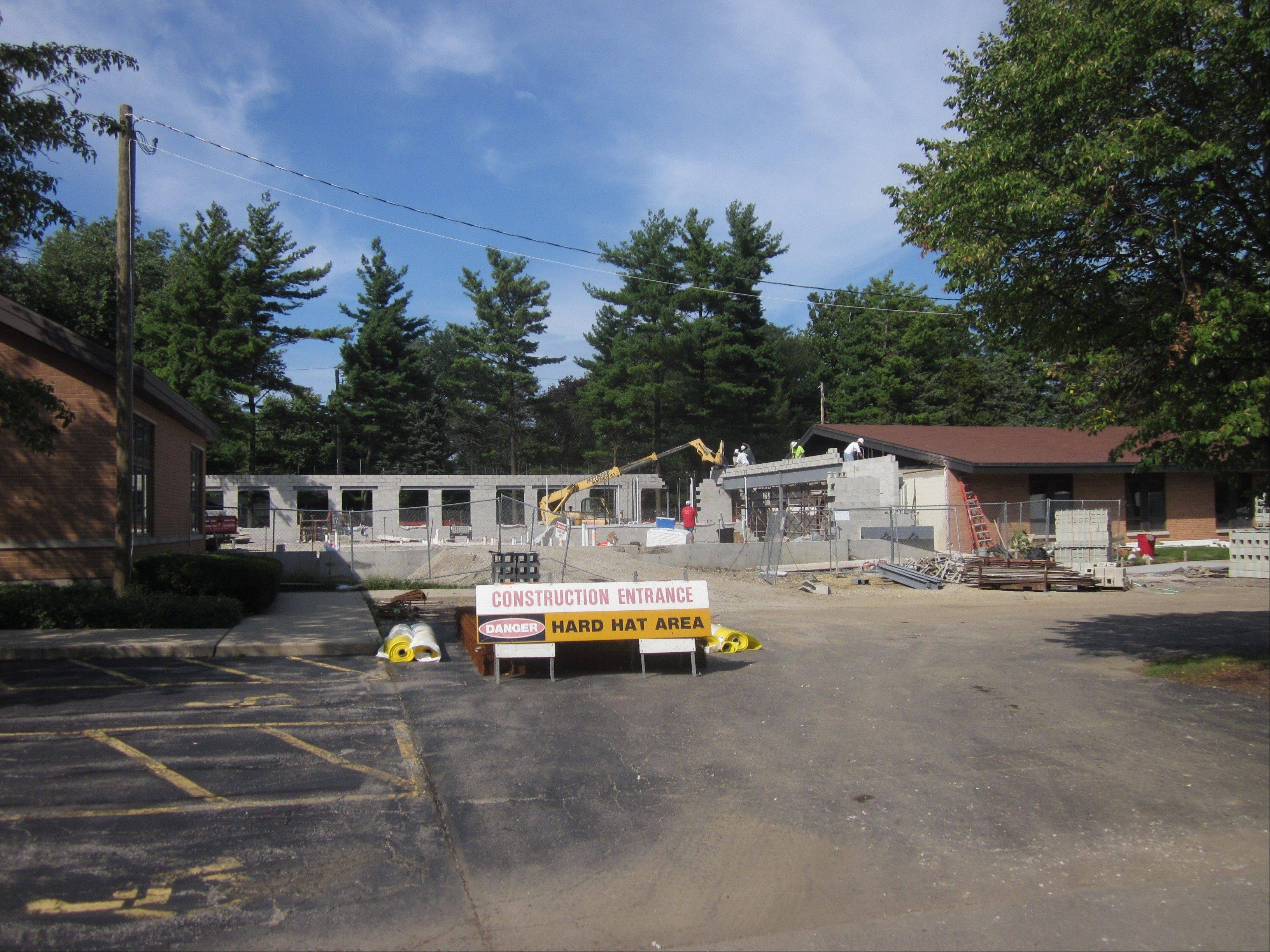 Fox Valley Presbyterian Church of Geneva is expanding to add classrooms and other facilities.