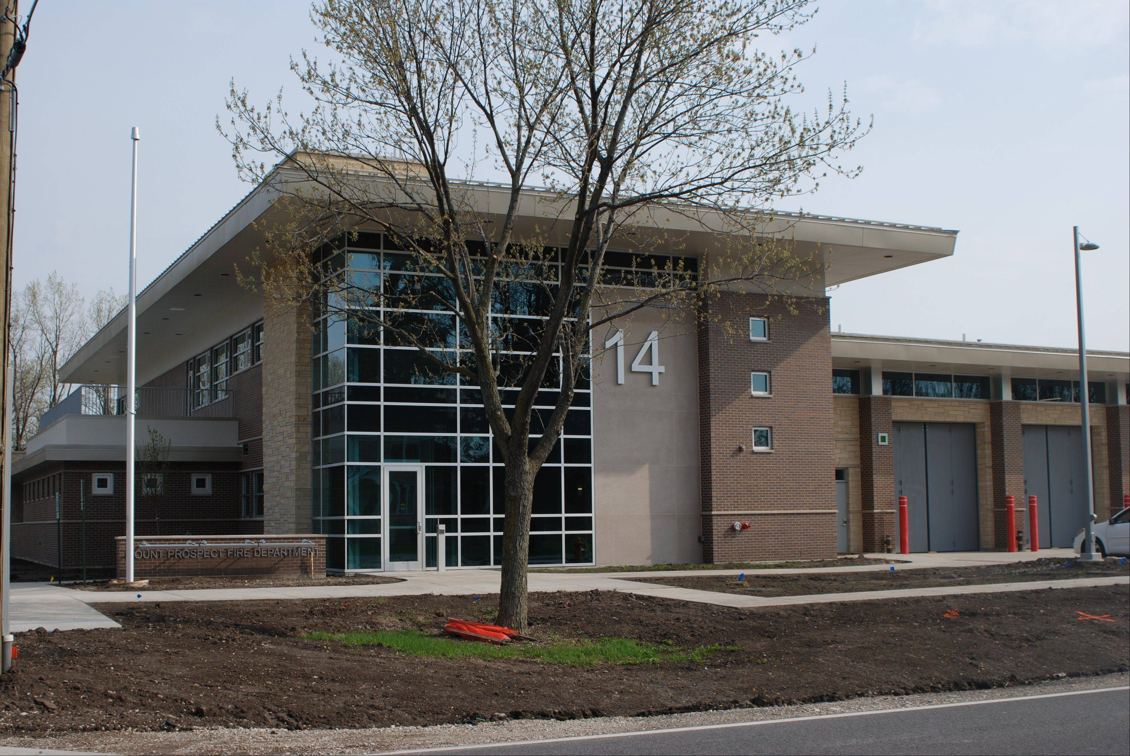 This is the Mount Prospect's newest fire station, which opened in 2010 at 2000 E. Kensington Road, replacing a building nearby that was inadequate for the department's needs.