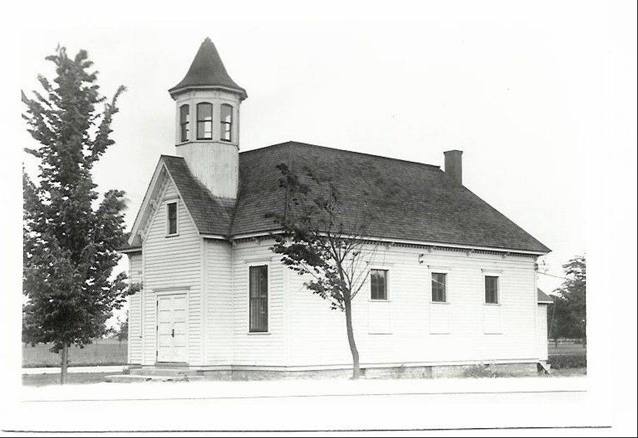 Central School, seen here circa 1900, was the site of the formation of the Mount Prospect Fire Department in 1913. The department will celebrate its 100th anniversary on Sept. 29.