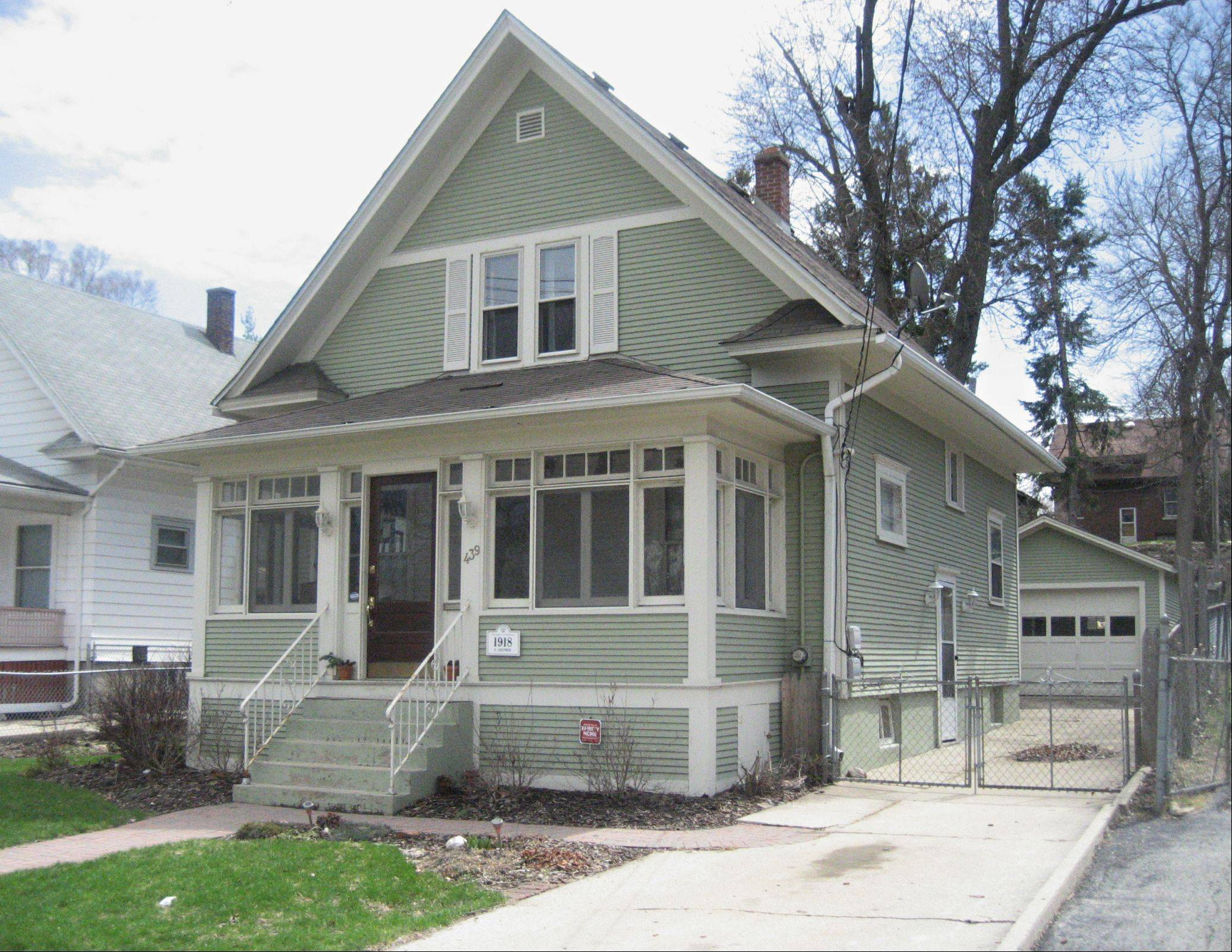"Jennifer Fukala has been restoring her home at 439 W. Chicago St. since purchasing it 4� years ago. ""Since I bought it ... it's been a dream of mine to be on the house tour,"" she said."