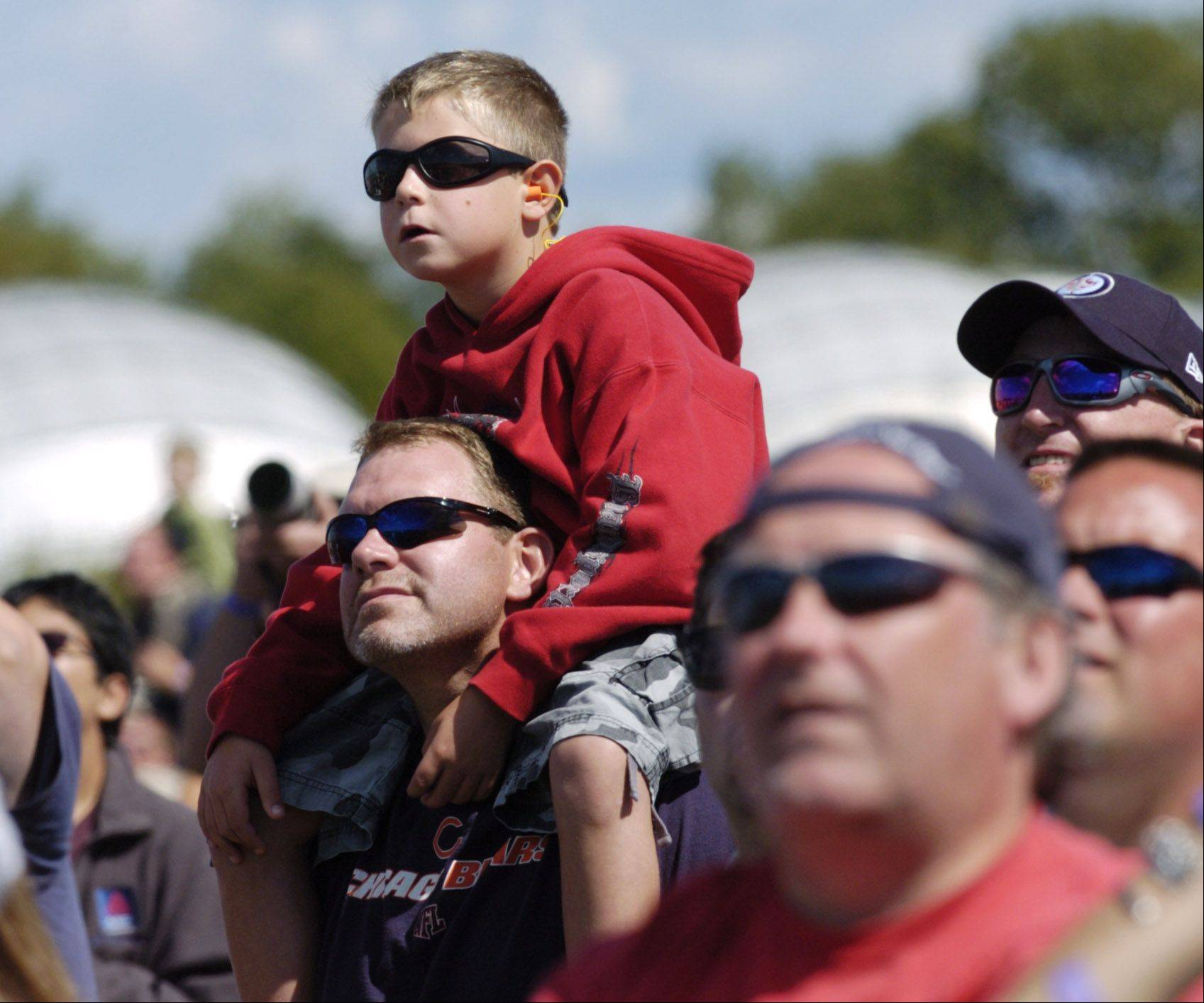 Folks enjoy last year's Waukegan Air Show. This year's event takes place Saturday, Sept. 7.