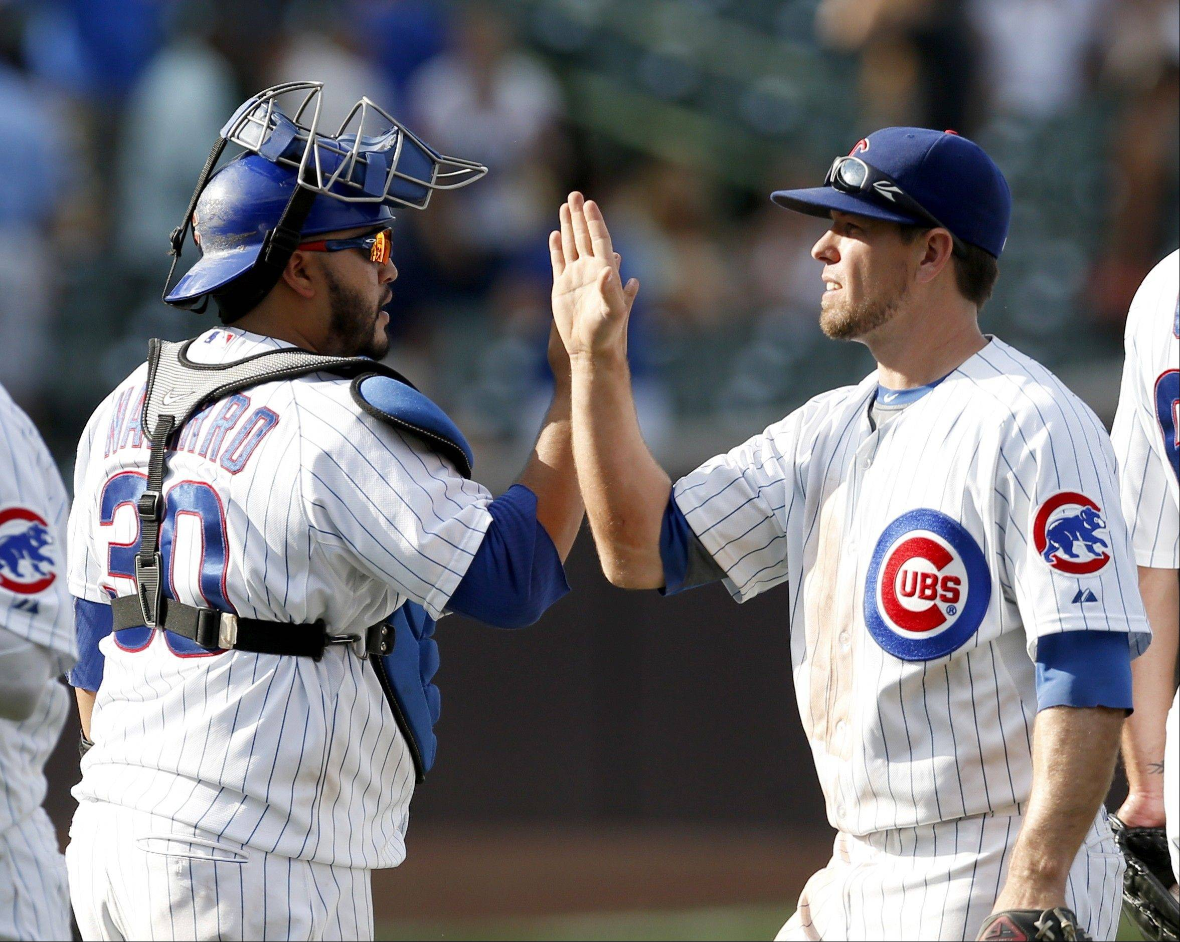 Catcher Dioner Navarro and third baseman Donnie Murphy are two players who have more than caught the attention of the Cubs this season.