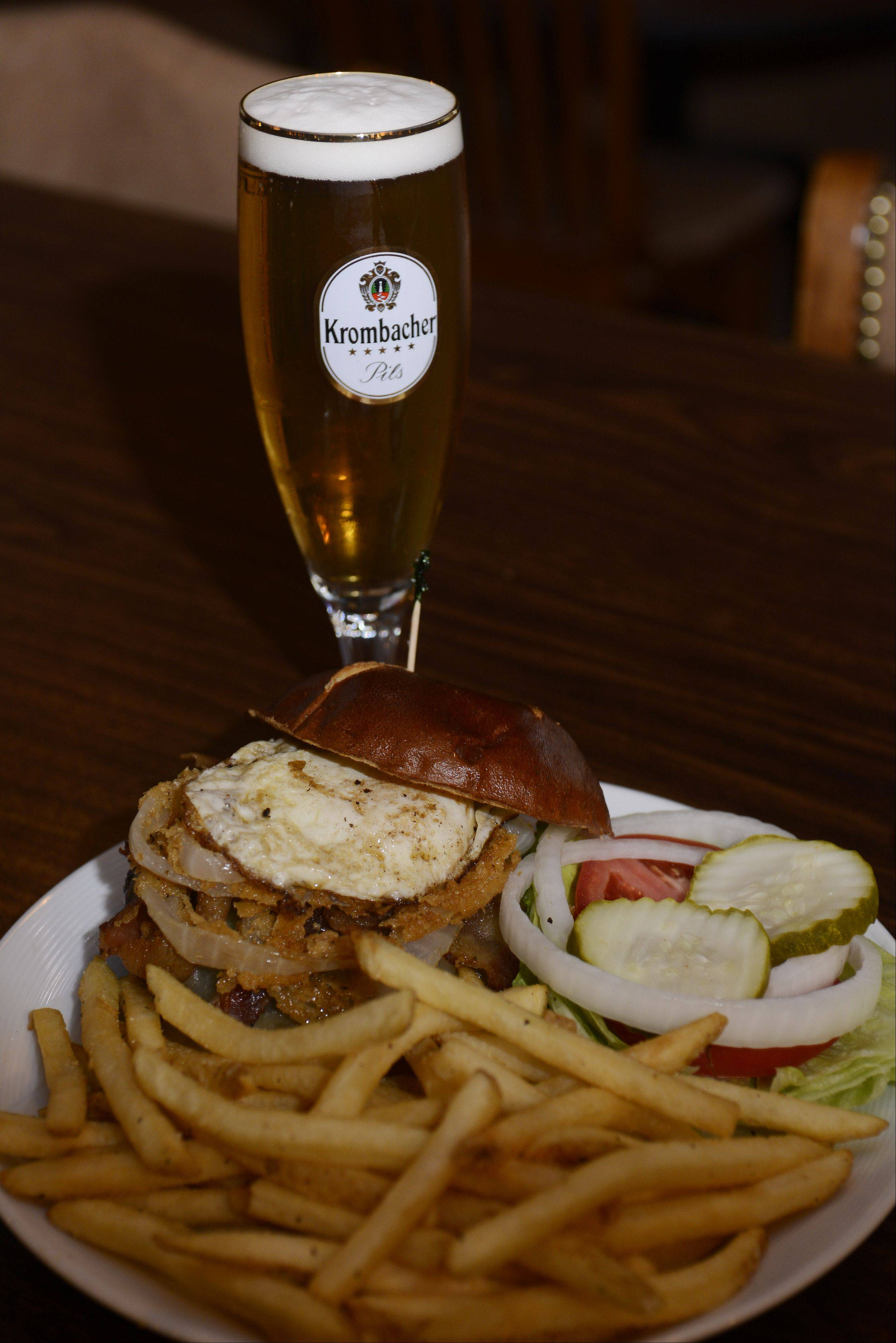Burgers and beer are the focus at Schaumburg Ale House.