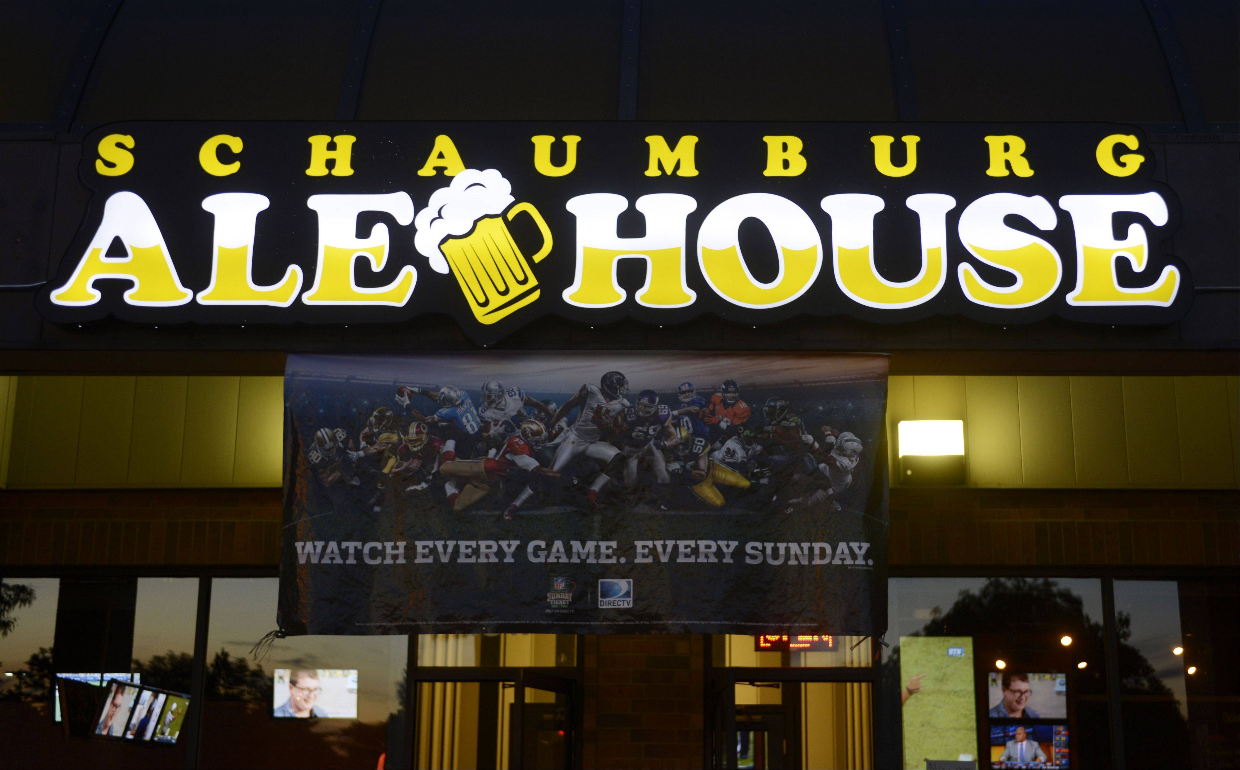 Schaumburg Ale House opened in July.