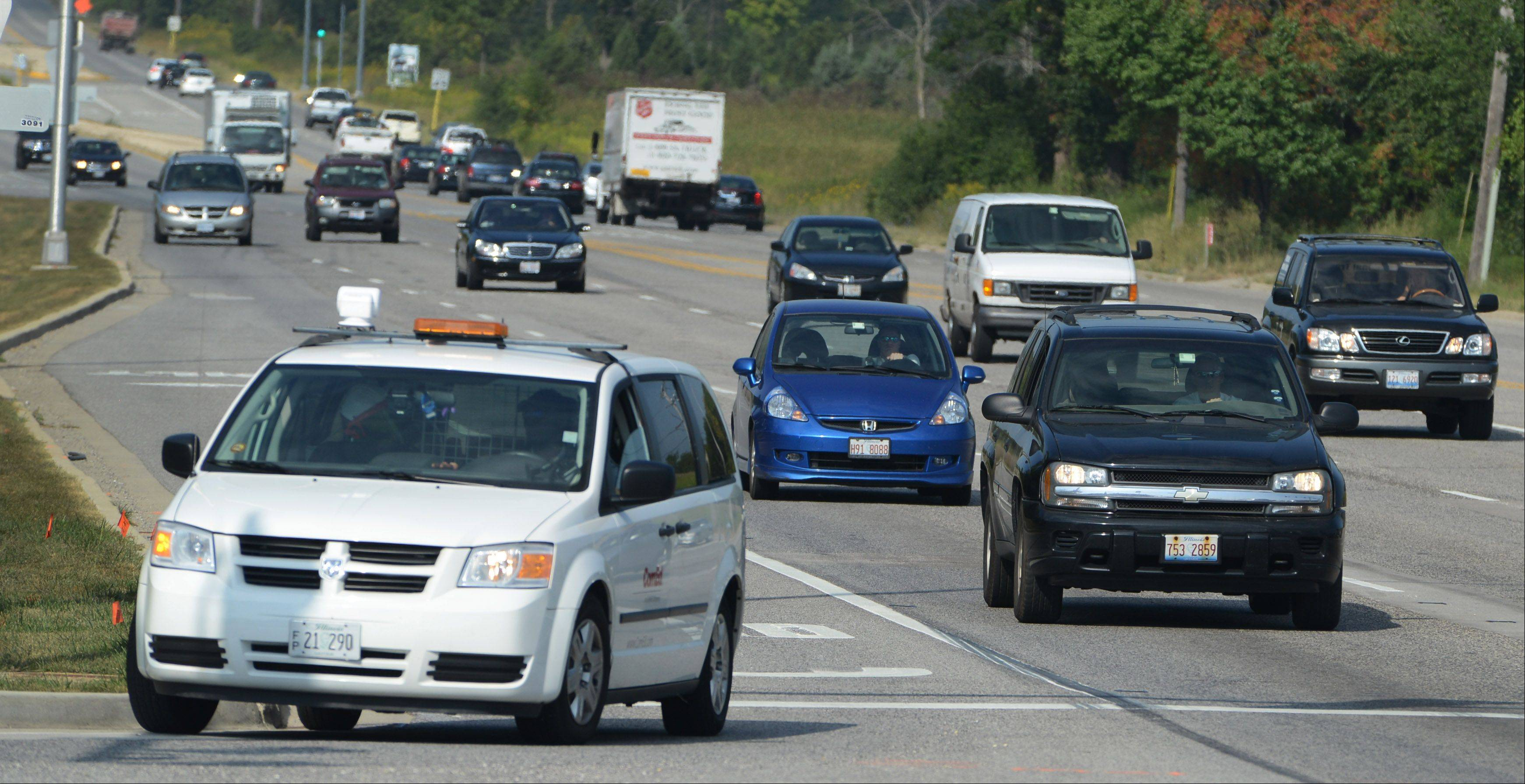 Lake Forest Deputy Police Chief Karl Walldorf says proximity of BMW Championship parking to the Tri-State Tollway should keep significant traffic woes from developing on Route 60 next week. Golf fans will follow signs west from the tollway on Route 60 to parking on W.W. Grainger Inc. farmland.