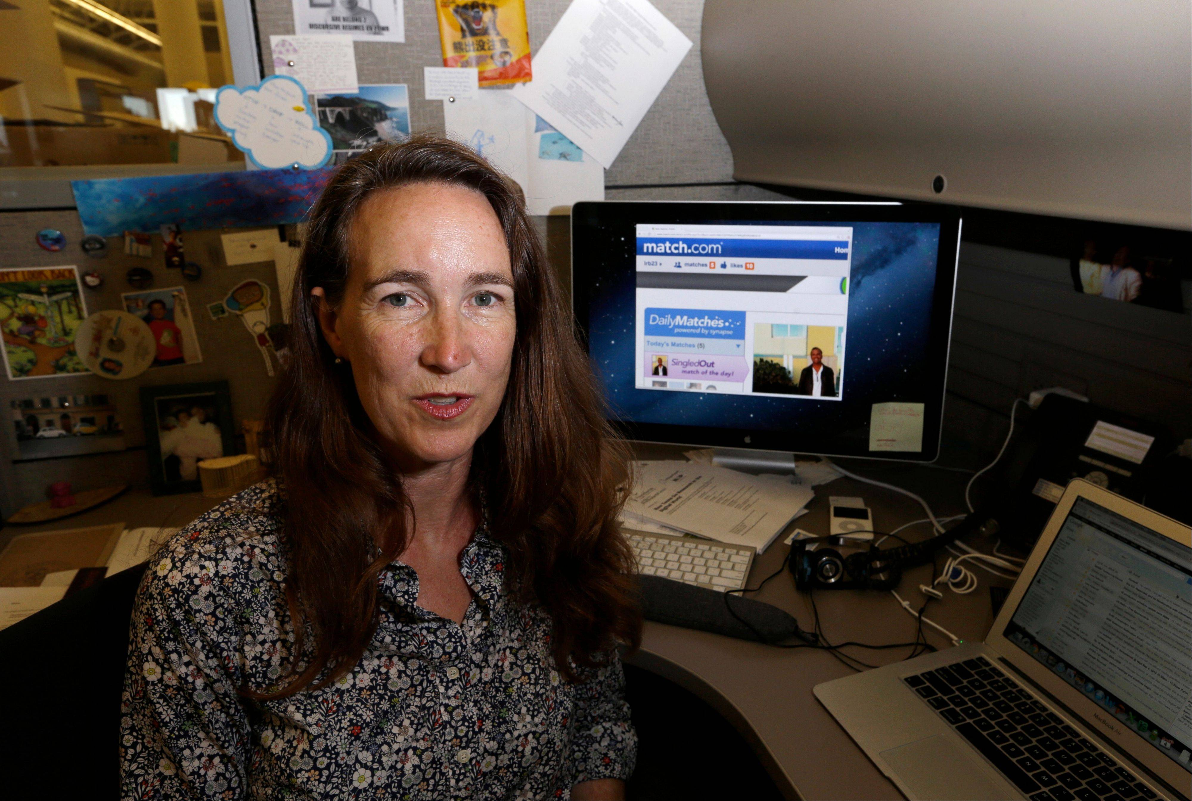 Lynn Boyden, an information architect in web services at the University of Southern California, says she has developed two identities online: a public one for her professional life and a private one that only a few close friends can access. She tries to block advertising trackers when she can and limits what personal data might wind up on public sites.