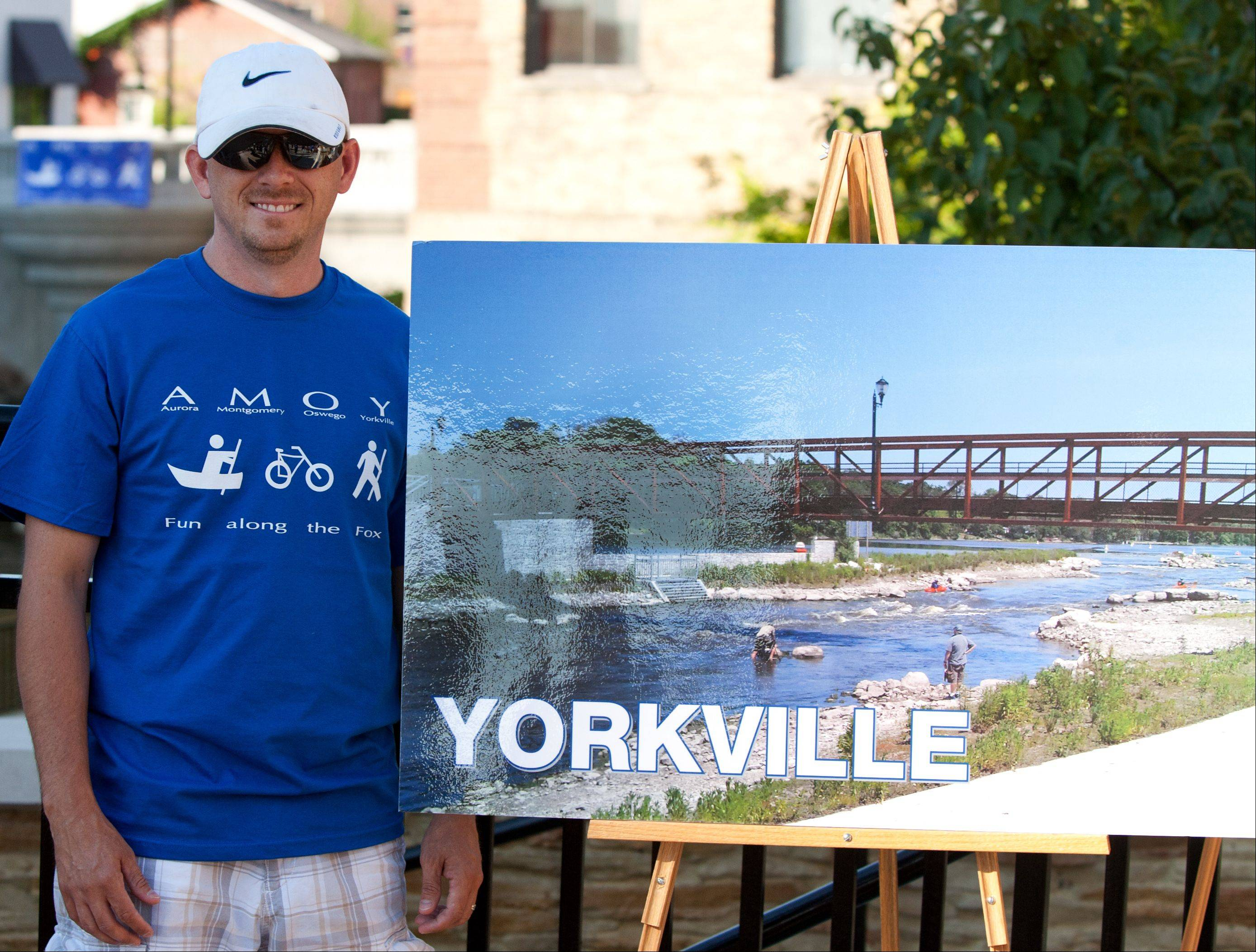 "Yorkville mayor Pro-Tem Chris Funkhouser says a ""micro-economy"" has developed in his city after the opening in 2011 of the Marge Cline Whitewater Course, a dam bypass built as a recreational amenity for canoers and kayakers."