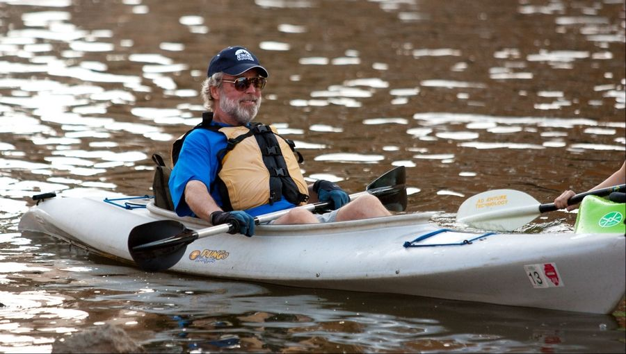 Aurora Mayor Tom Weisner is one of many Fox River town leaders who want to see increased recreational use along the waterway, hoping canoers and kayakers will bring businesses with them.