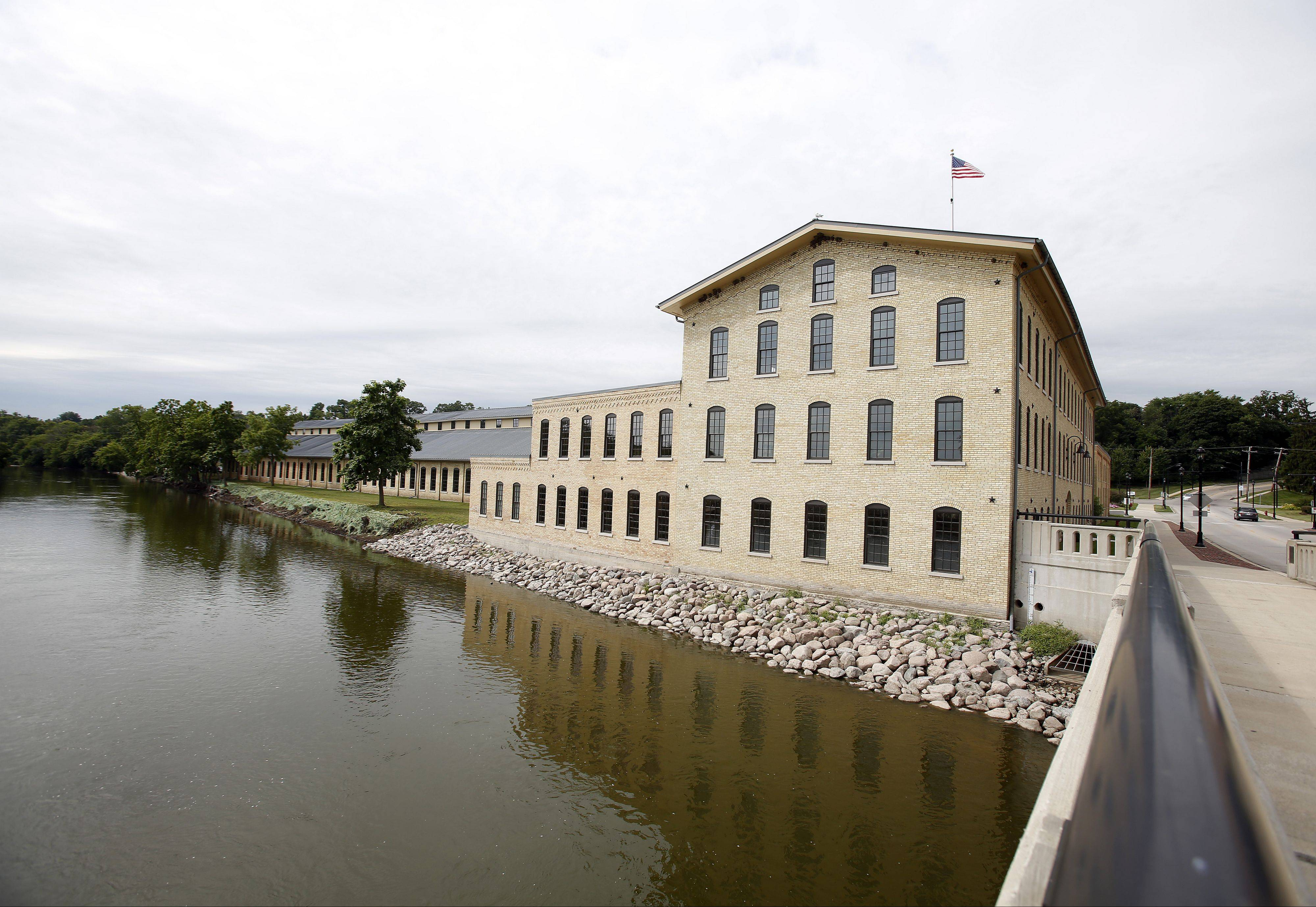"The largest employer in Carpentersville, Otto Engineering, has sparked redevelopment efforts along the Fox River, which have included reconstruction of the Main Street Bridge and completion of Tim ""Mackers"" McNamee Park."