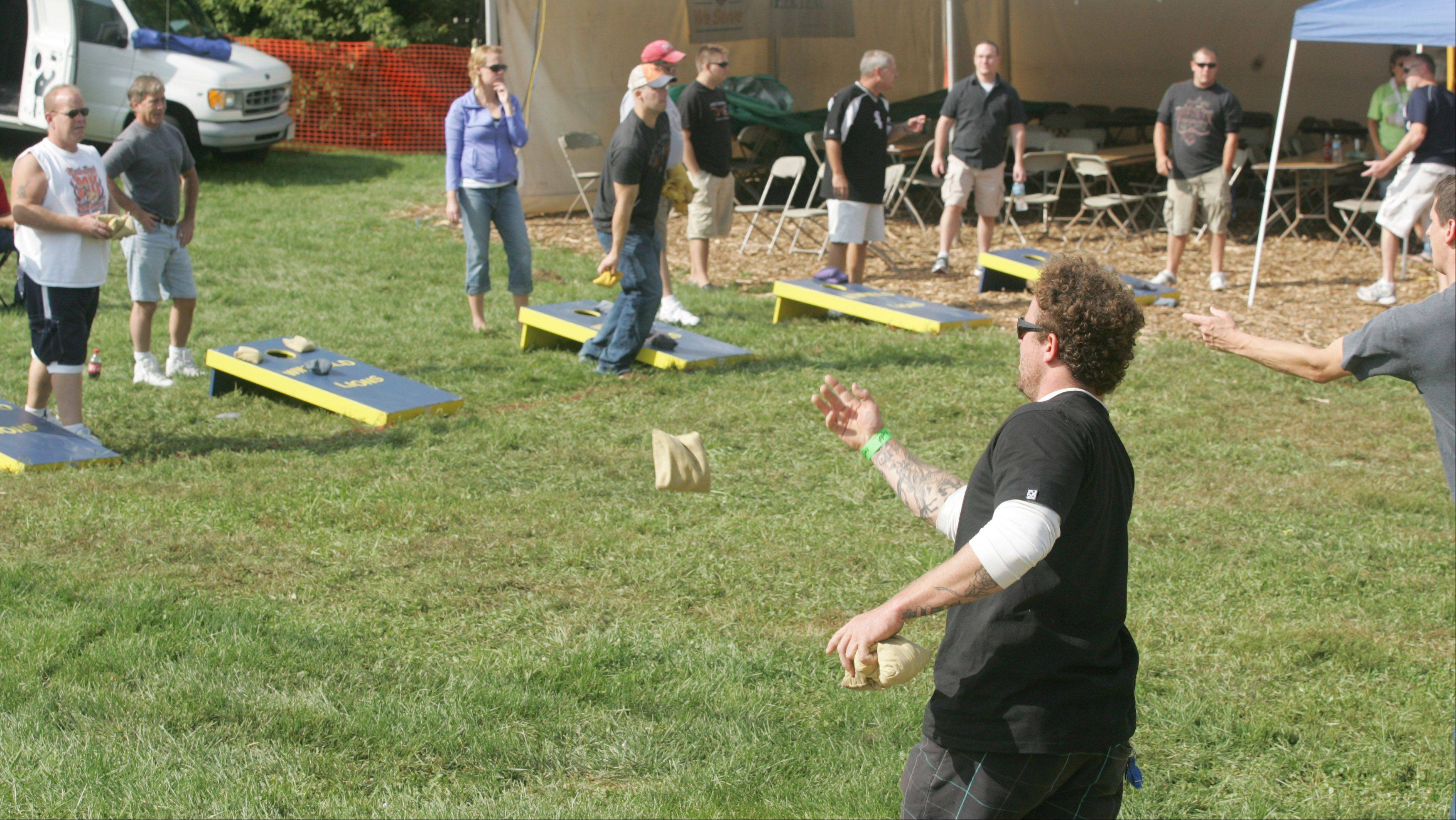 Winfield's Good Old Days festival will include a bags tournament Saturday and Sunday.