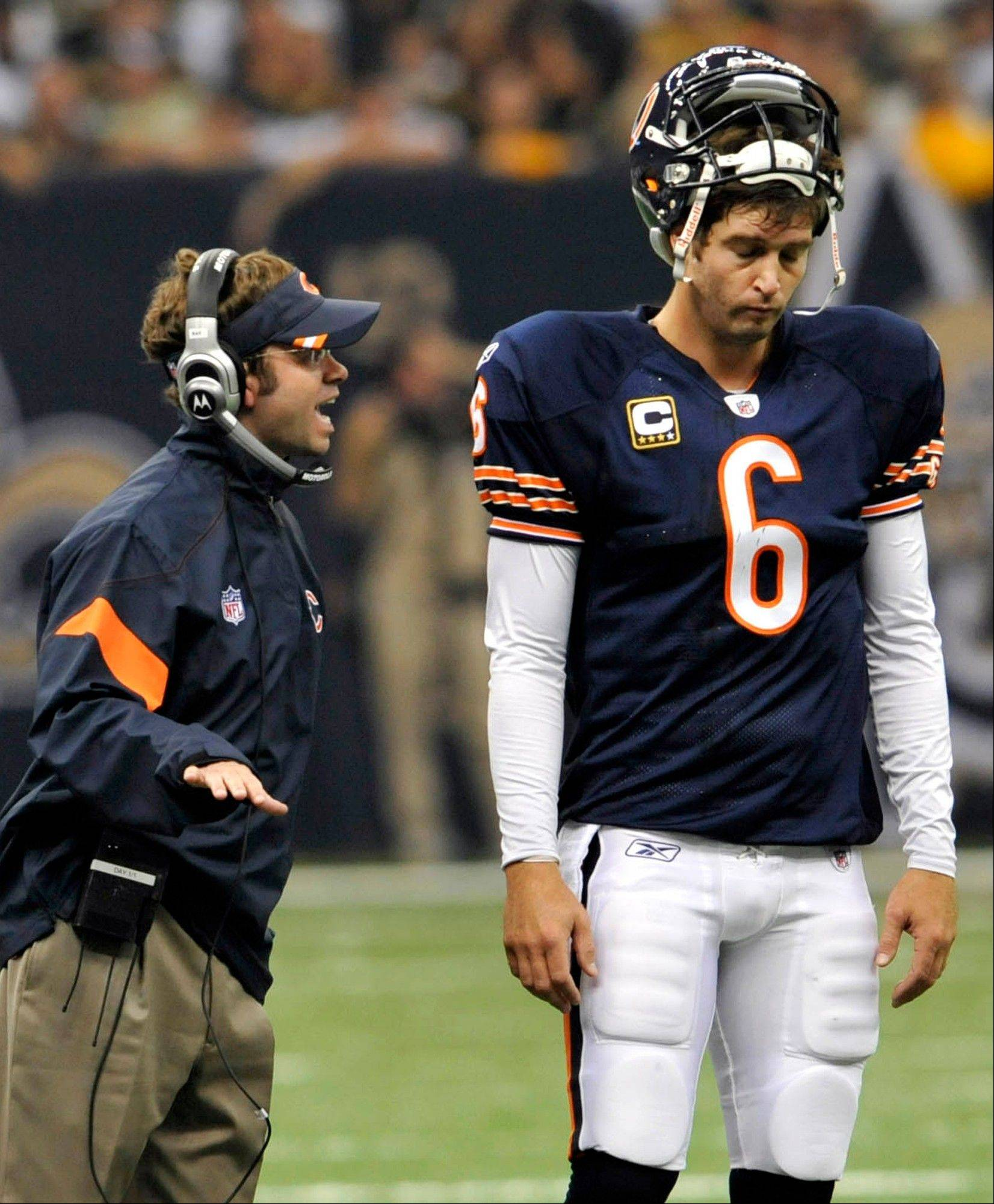 Associated Press File PhotoNew coach Marc Trestman said he expects Jay Cutler to get hot on the sidelines but he has a strategy to deal with it.