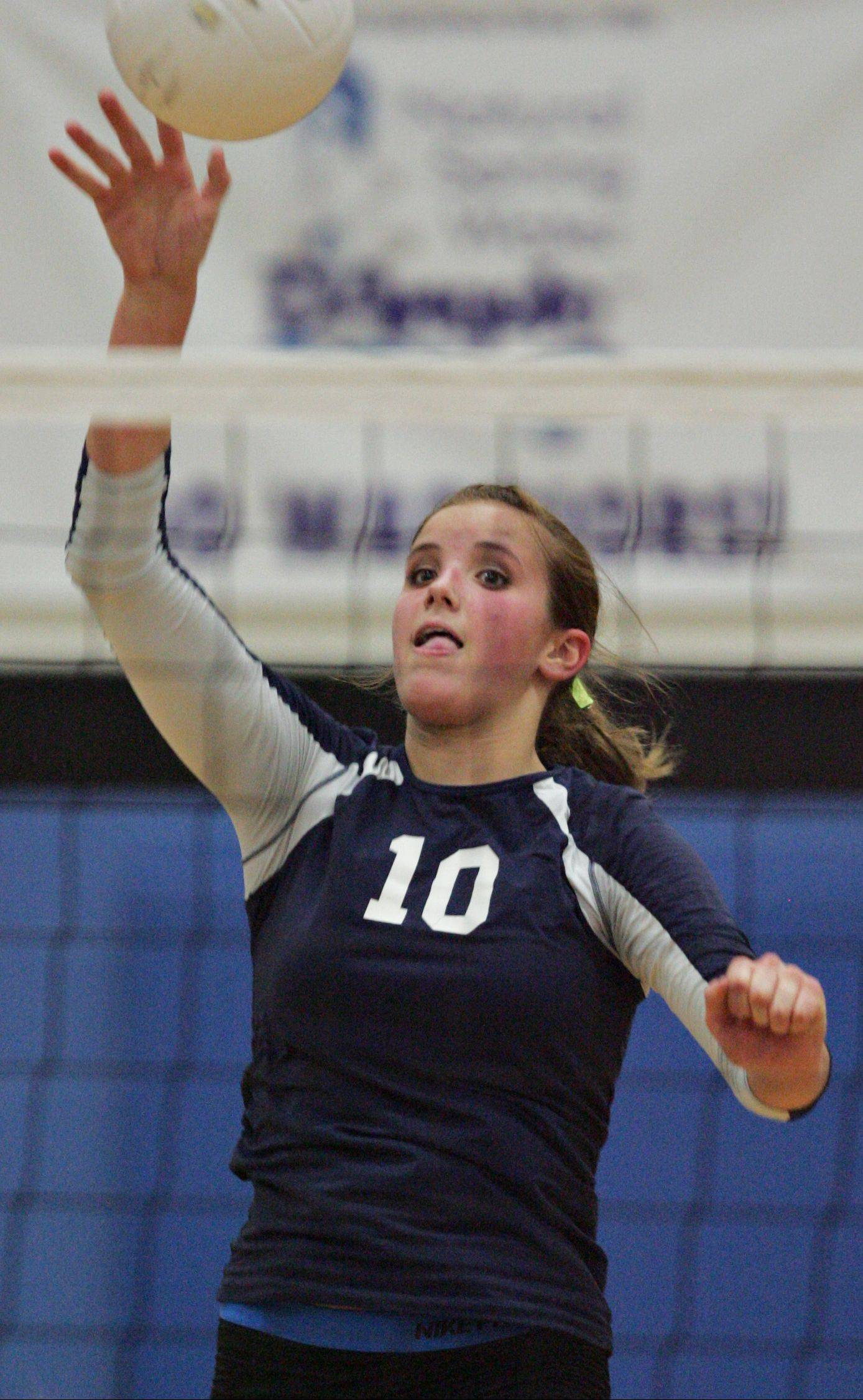 Senior Sydney Doby is back to lead Harvest Christian's volleyball team again this season. The Lions have advanced to the Class 1A Elite Eight the past two years.