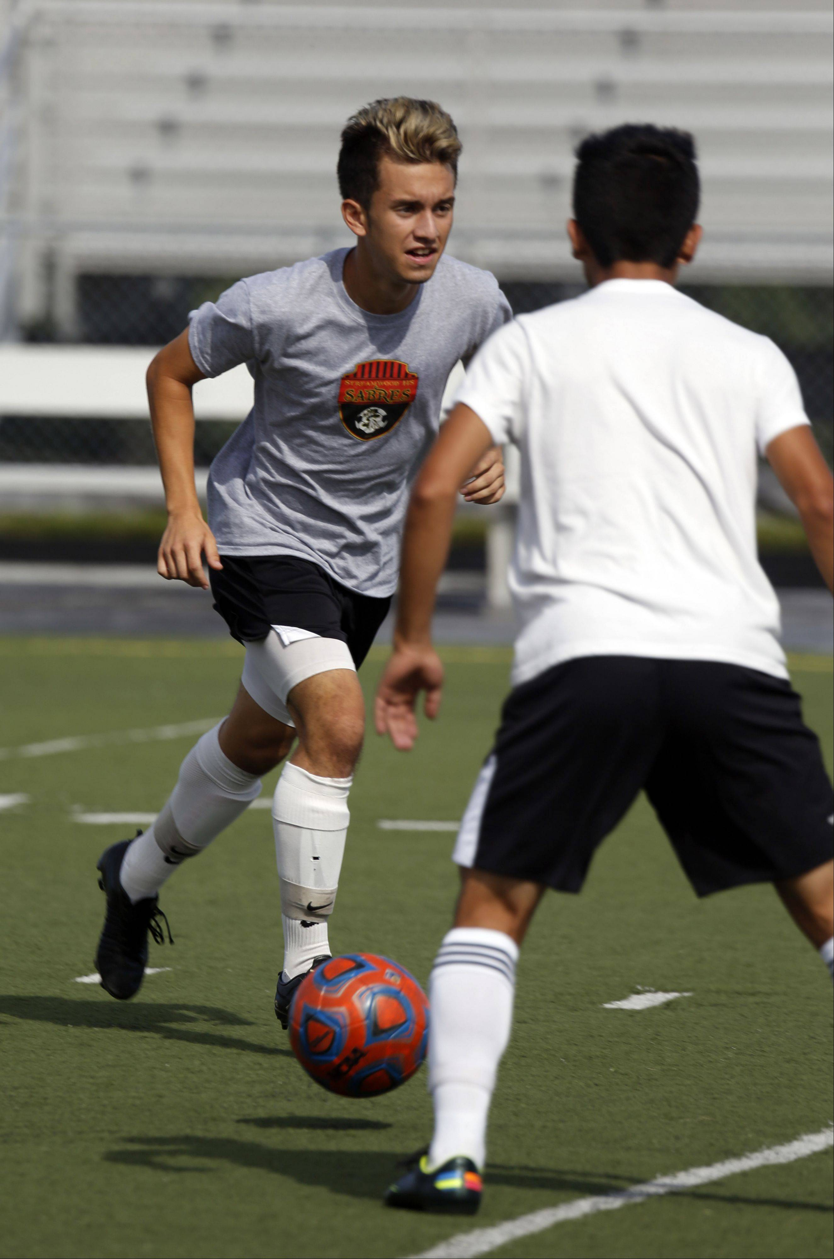 Streamwood senior Nestor Ascencio is the Sabres' first all-American soccer player.