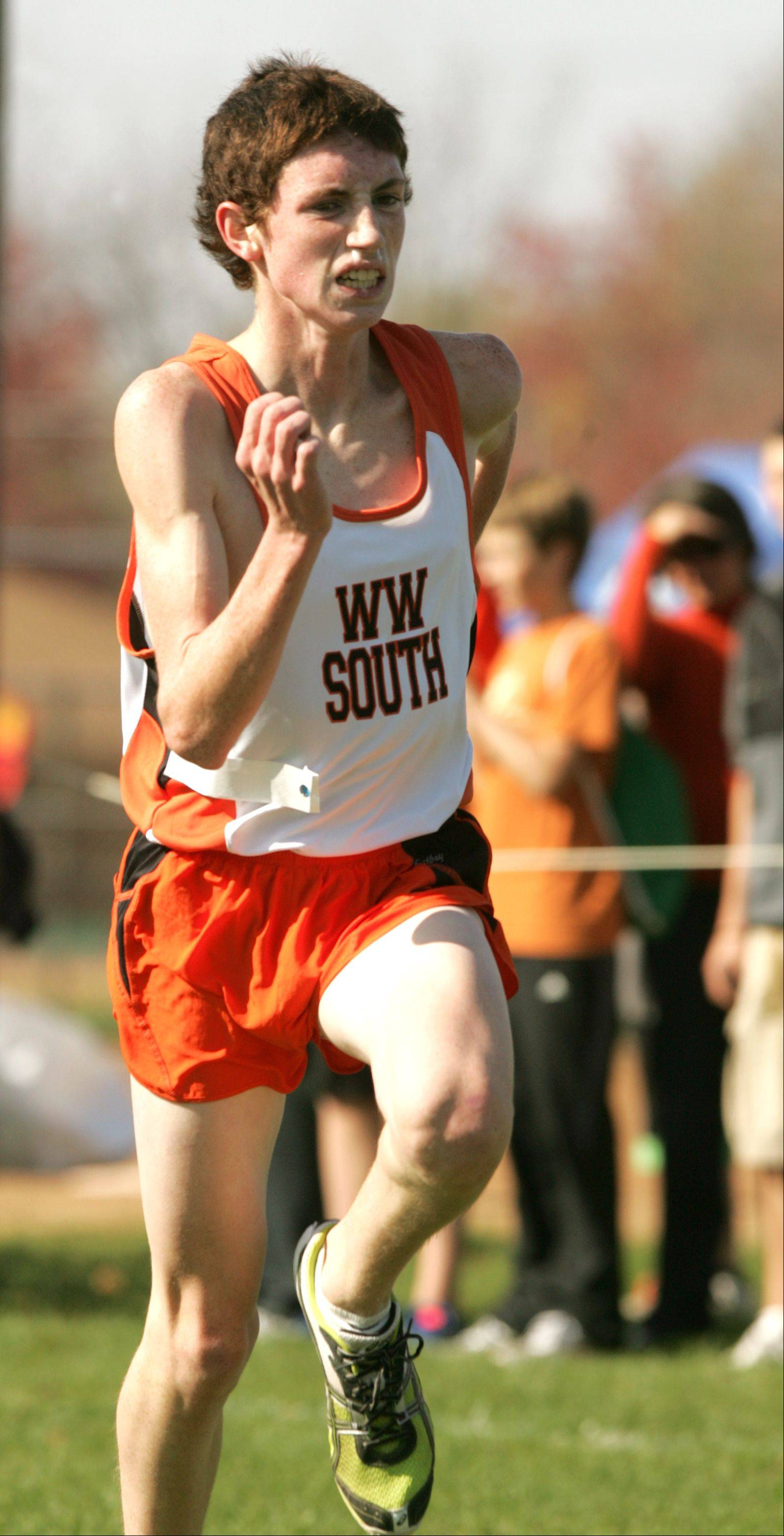 Wheaton Warrenville South senior Nolan McKenna is one of the top returning runners in DuPage County.