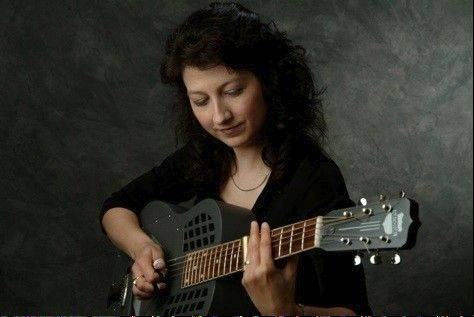Donna Herula, a singer and slide guitar player, will perform at the next Haystacks Coffee House.
