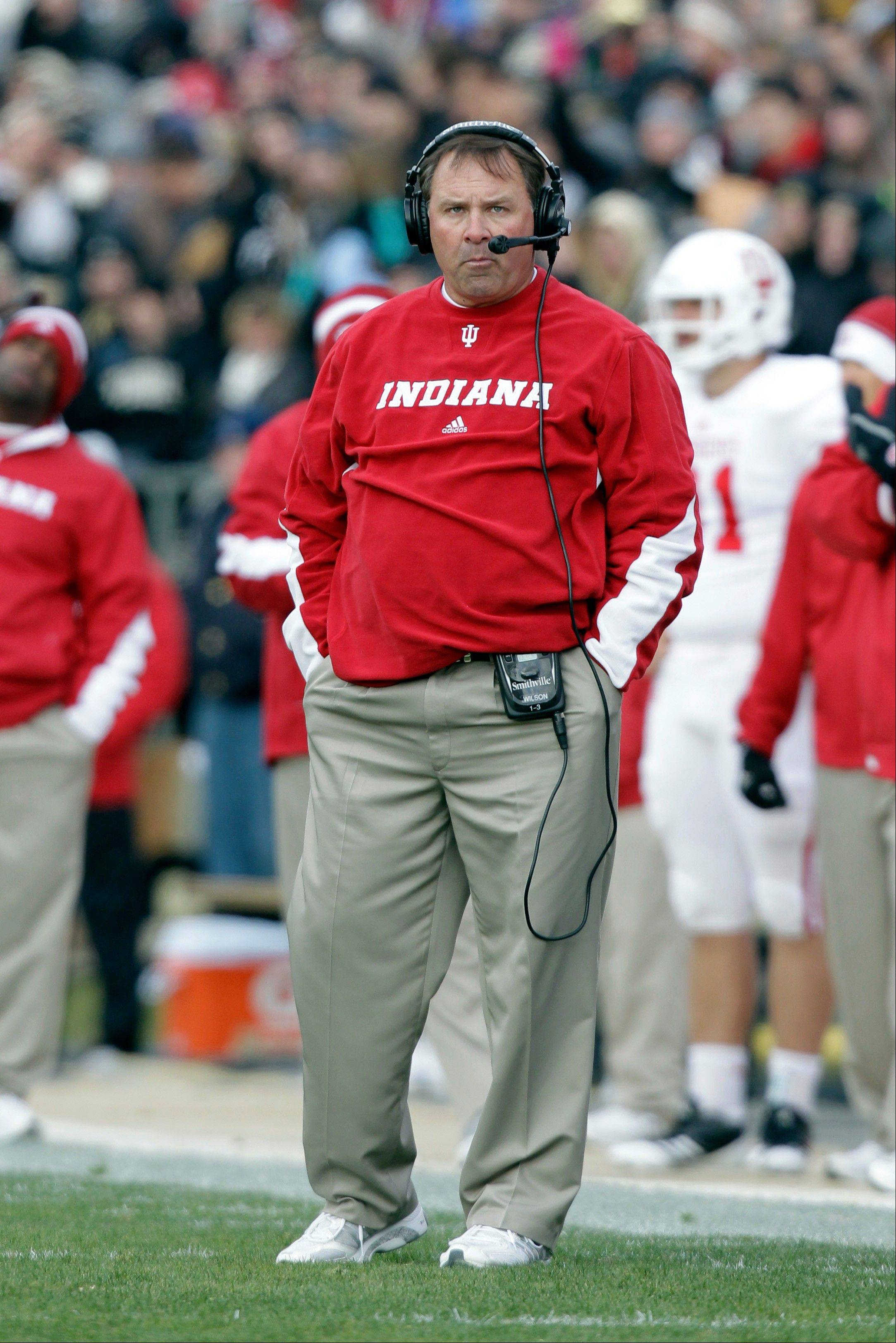 Indiana head coach Kevin Wilson called last week�s rout of Indiana State �a good start.� The Hoosiers play Navy on Saturday.
