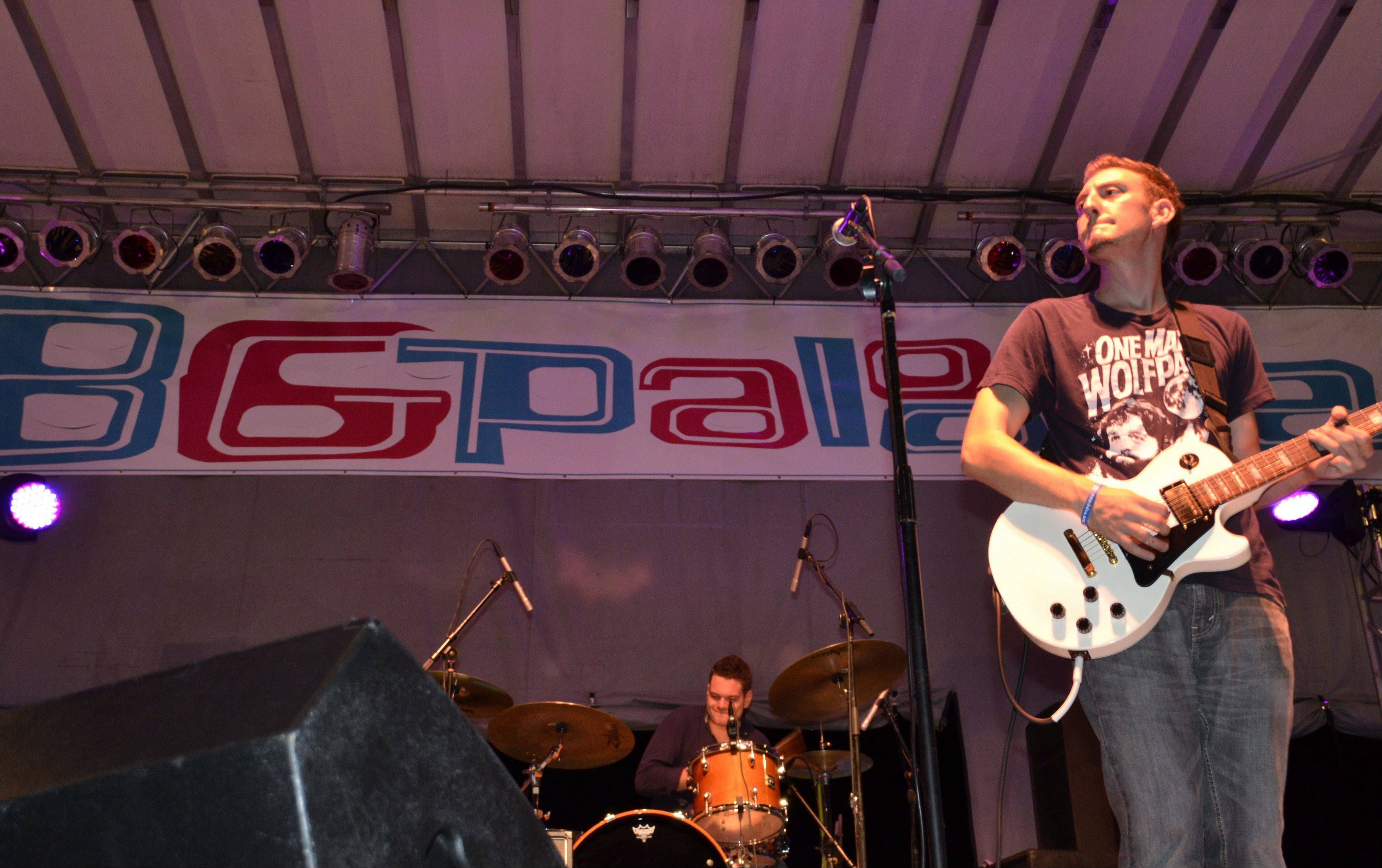 Phil Jacobson plays the main stage at Buffalo Grove Days.