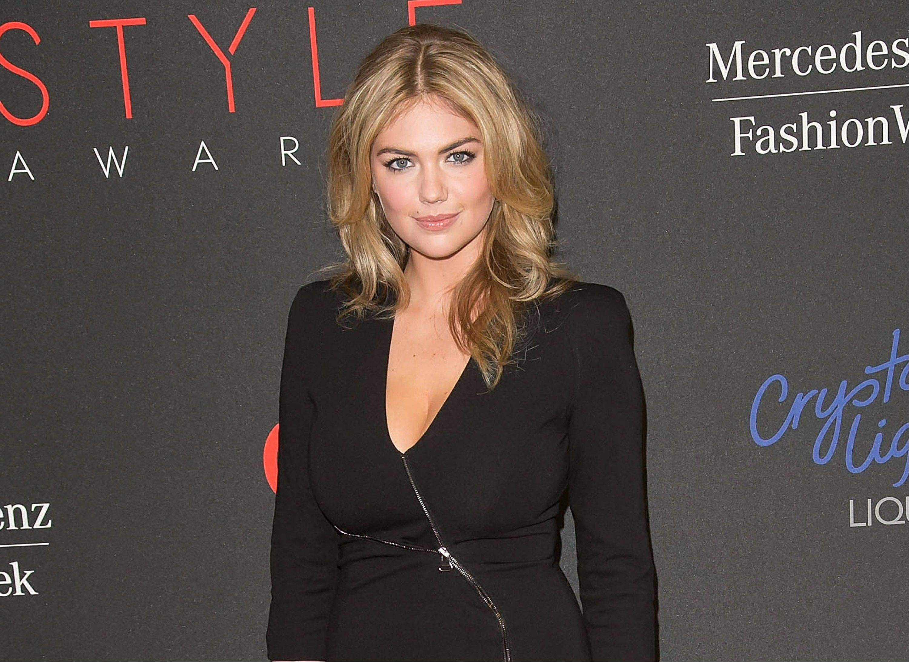 Kate Upton was honored as model of the year at the 2013 Style Awards.
