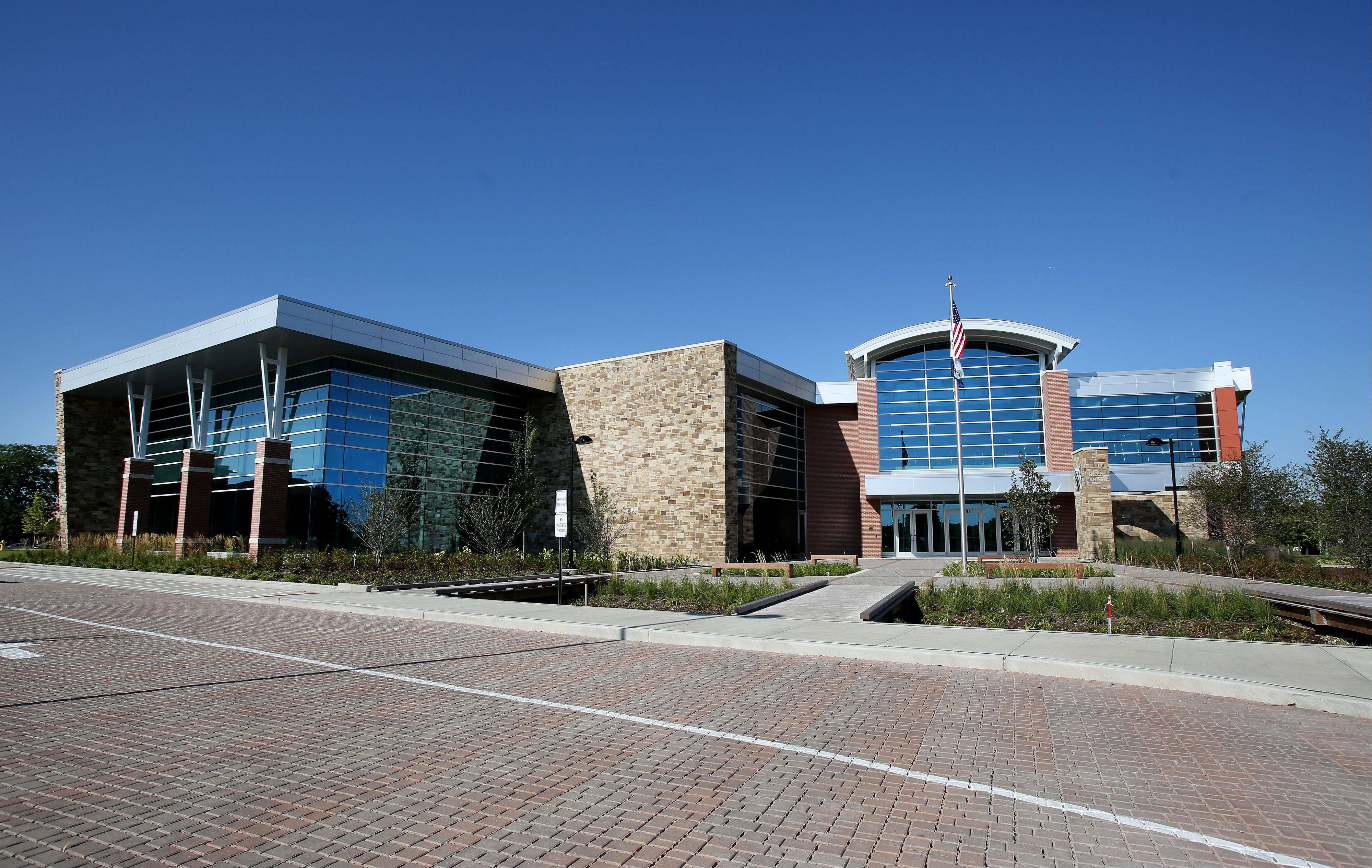 The $19 million, 90,846-square-foot Fountain View Recreation Center in Carol Stream will have its grand opening Saturday.