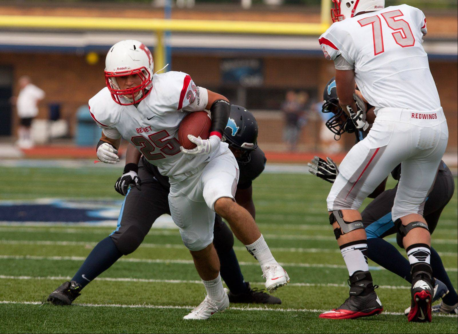 Any true Benet Academy fan already knows the Redwings shut out Downers Grove South in the season opener last Saturday.