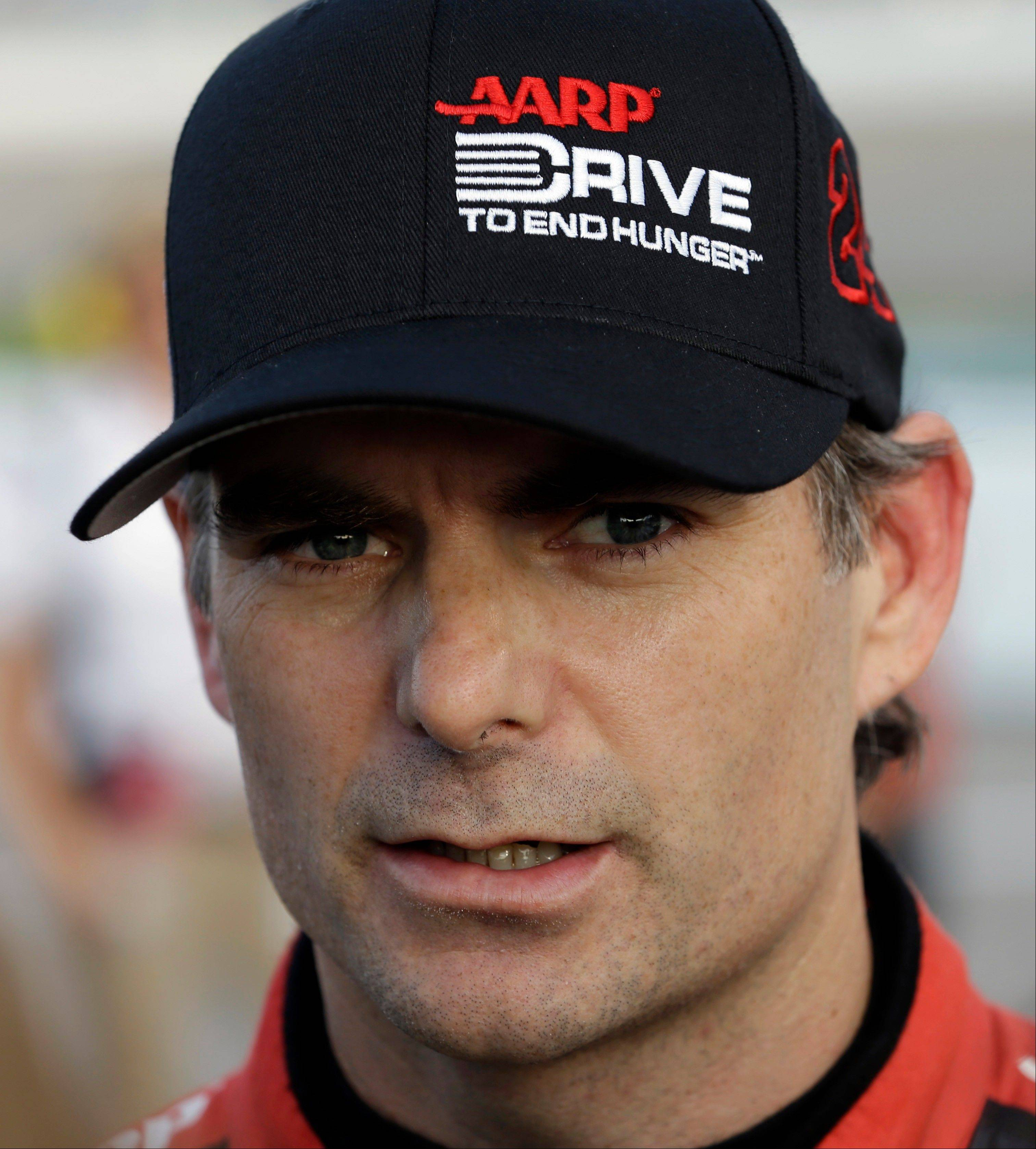 Jeff Gordon is fighting for one of the last five spots in the Chase field.