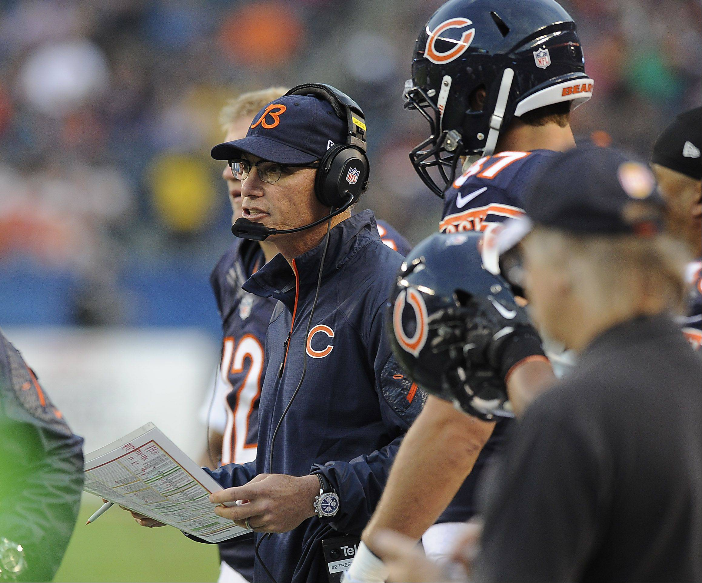 Bears' Trestman just focused on doing his job