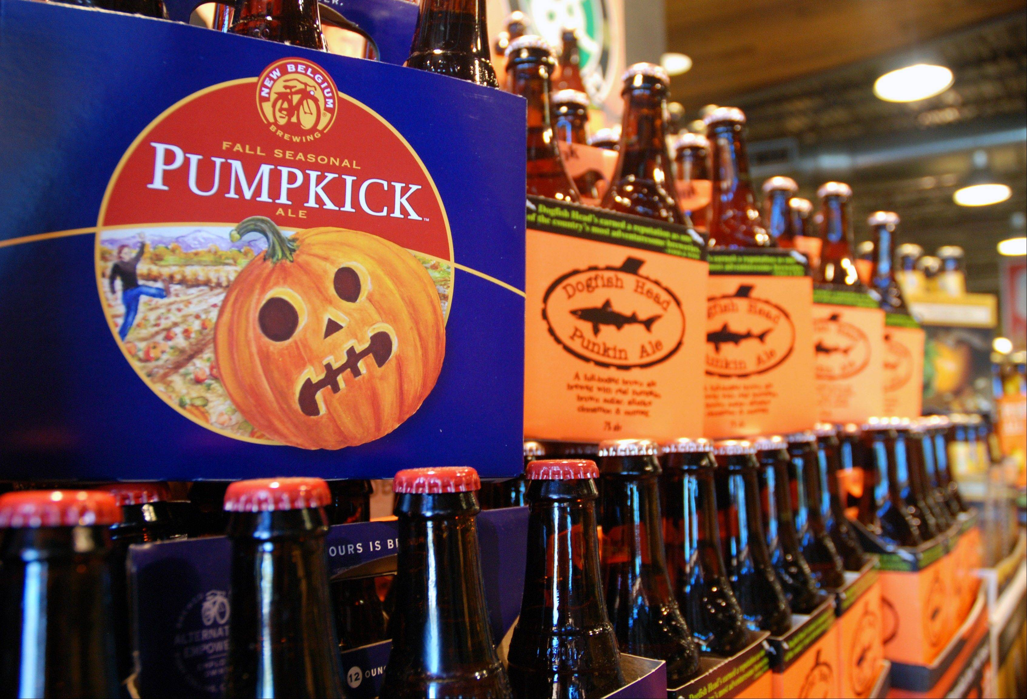 Labor Day may be considered the unofficial end of summer, but some craft brewers couldn't even wait until then to roll out their pumpkin and other fall seasonal beers. Many already have been in stores and on taps for a month.