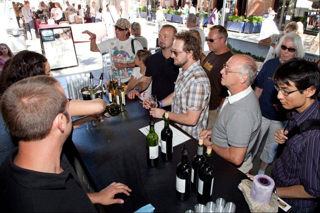 The Crush in Old Town will feature wine tasting, craft beer, an art show and a kids� activity area.
