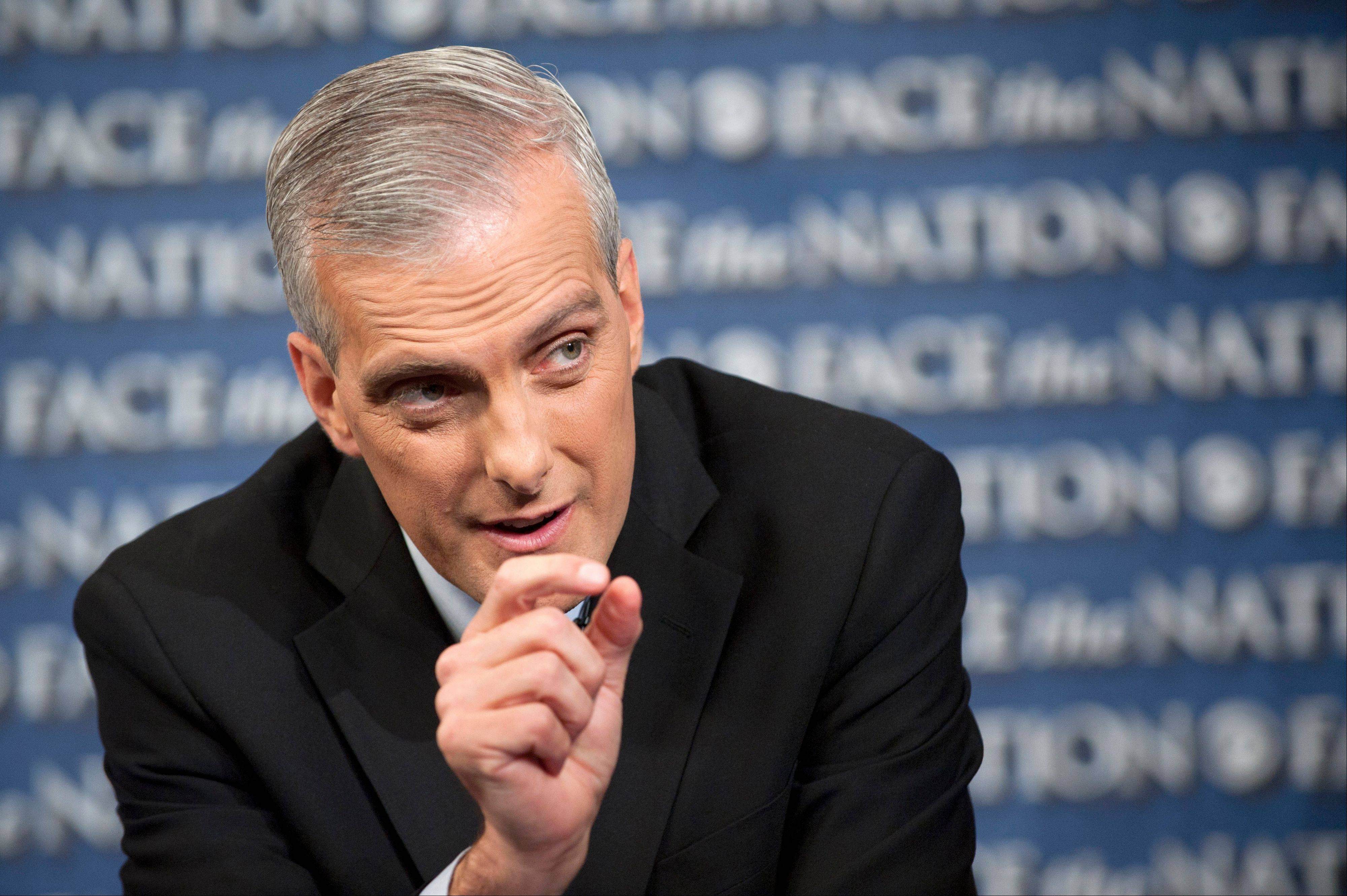 White House Chief-of-Staff Denis McDonough, speaking on CBS�s �Face the Nation,� said Sunday a �common-sense test� dictates the Syrian government is responsible for a chemical weapons attack that President Barack Obama says demands a U.S. military response.
