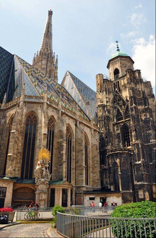 St. Stephen's Cathedral in the old city is the seat of the Archbishop of Vienna. It was consecrated in 1147.