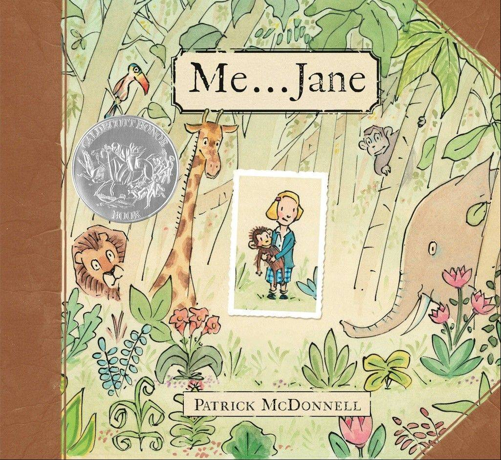 "Preschoolers can read ""Me ... Jane,"" by Patrick McDonnell, to participate in this year's Suburban Mosaic program."