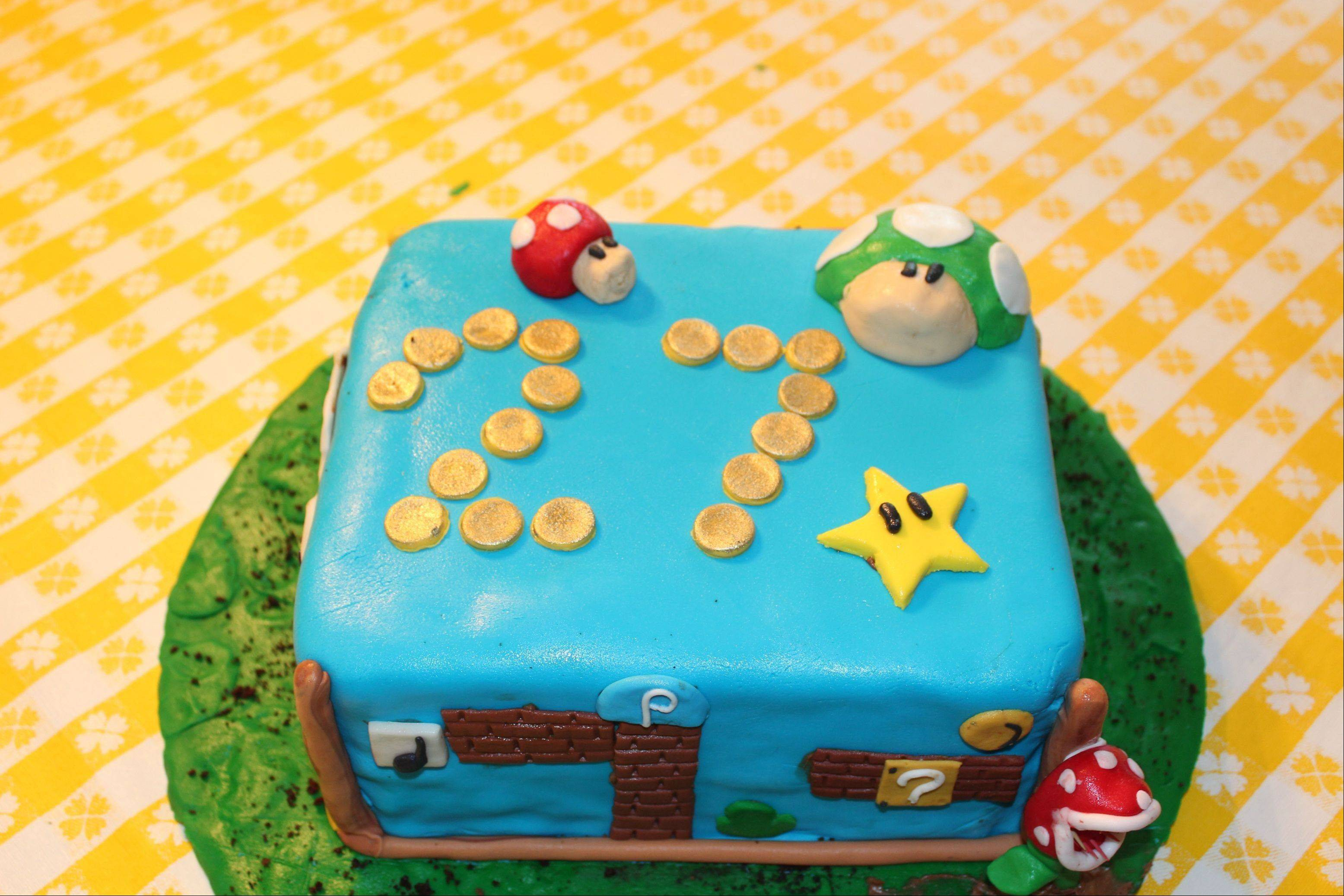 "Amateur baker Justin Clark created a Mario Brothers-themed cake in Dallas. Shows like ""Ace of Cakes,"" ""Cake Boss,"" and various spinoffs tempt viewers with stunning visions of creations closer to art than dessert."
