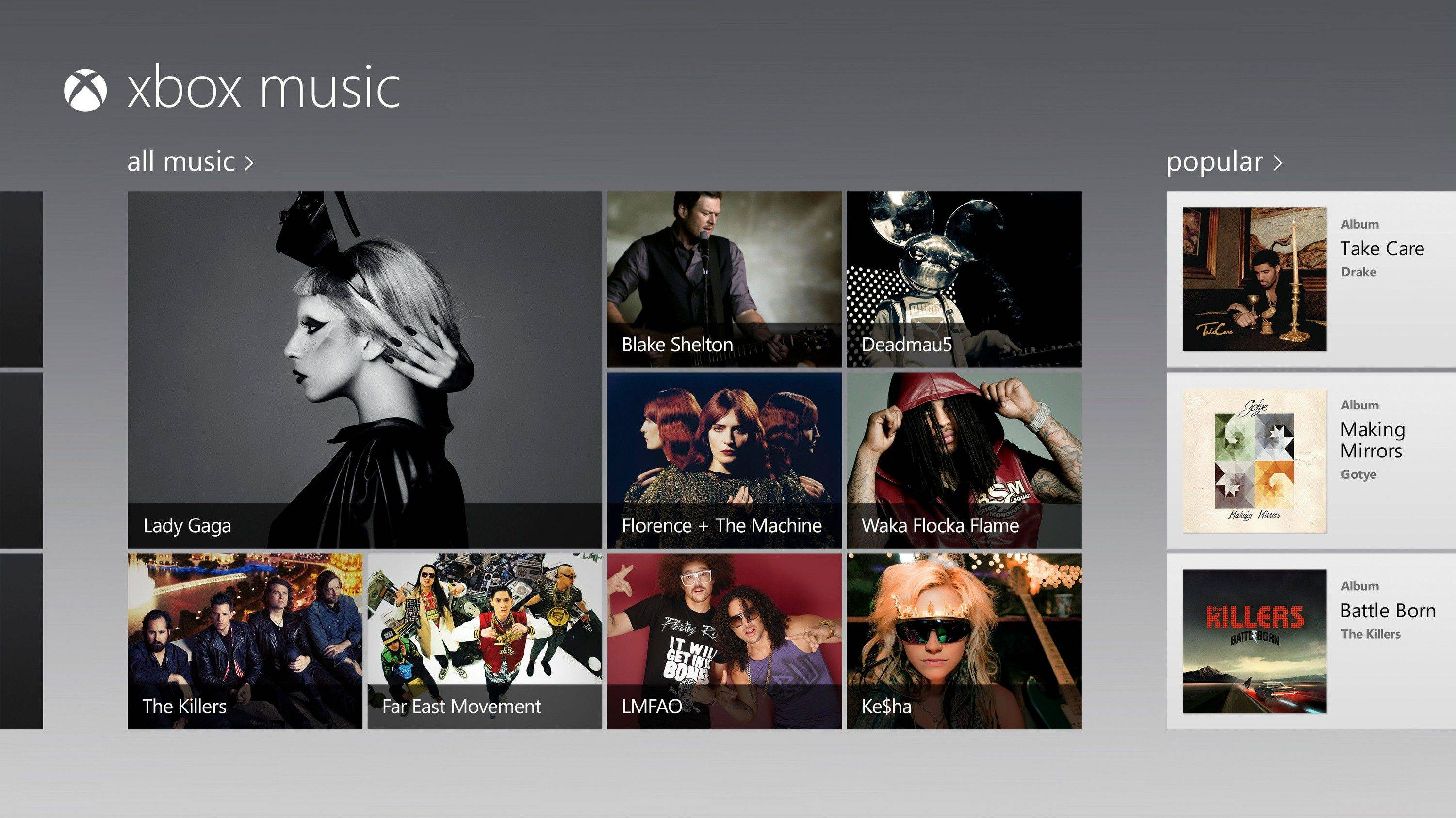 Microsoft is making its Xbox Music streaming service available for free on the Web _ even to those who don't use Windows 8. The expansion beyond Windows 8 devices and Xbox game consoles starting Monday is intended to bring new customers into the software giant's ecosystem of devices and services.