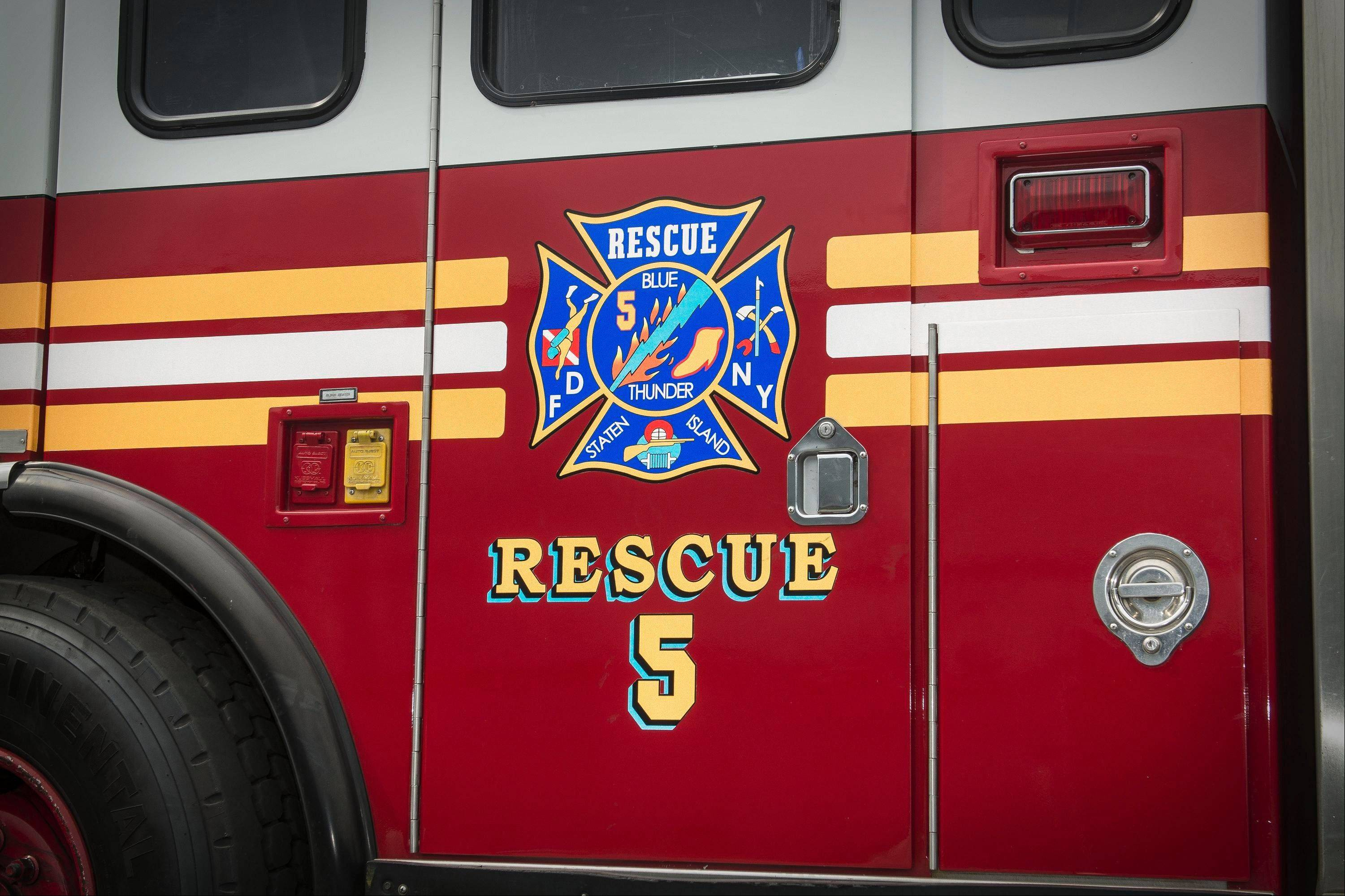 Rescue 5 belonged to the Staten Island Rescue Company, which lost 11 firefighters on Sept. 11.