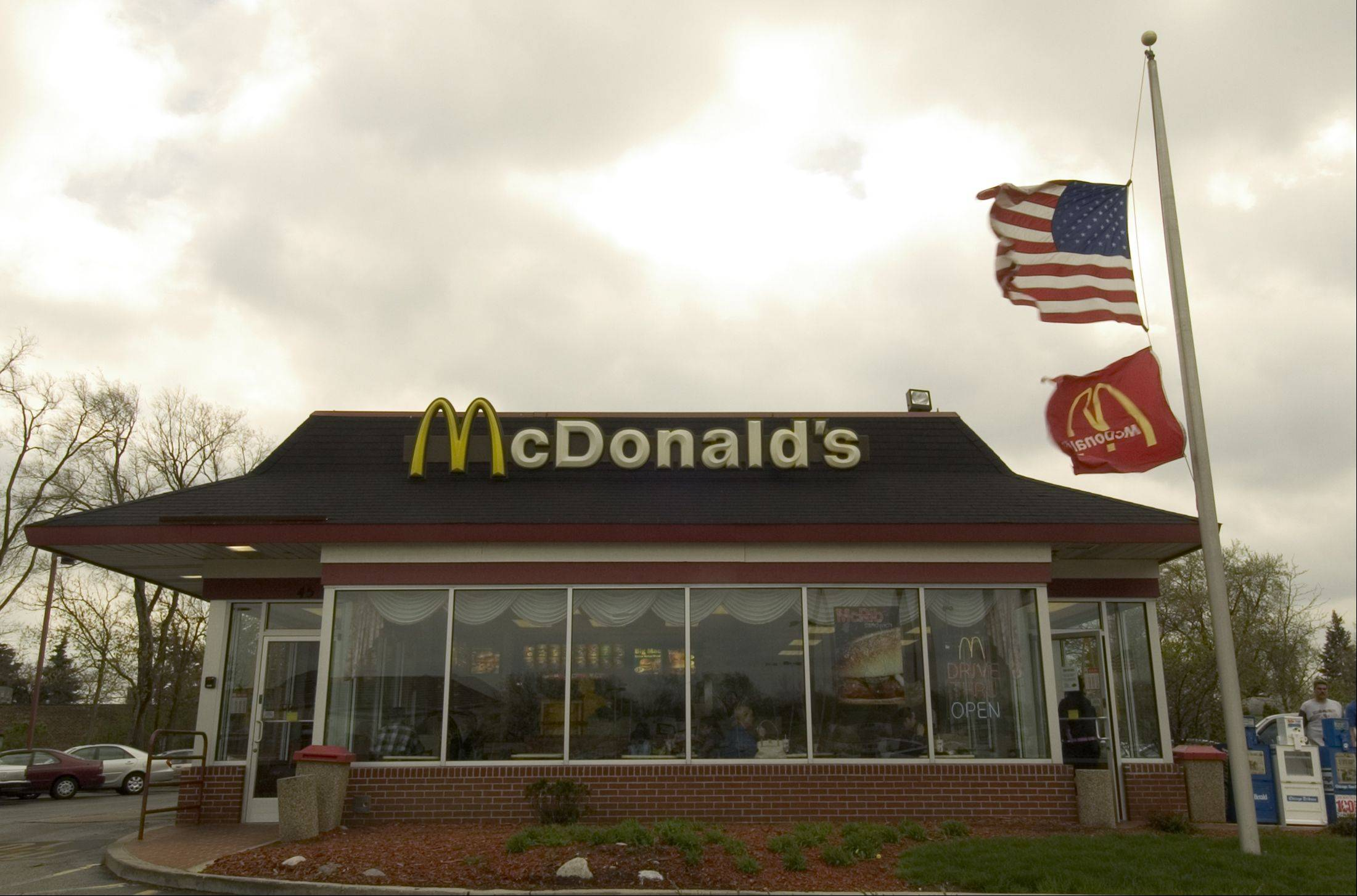 Oak Brook-based McDonald's Corp. says a key revenue figure rose 1.9 percent in August, driven by a strong performance in Europe and its Monopoly promotion in the United States.