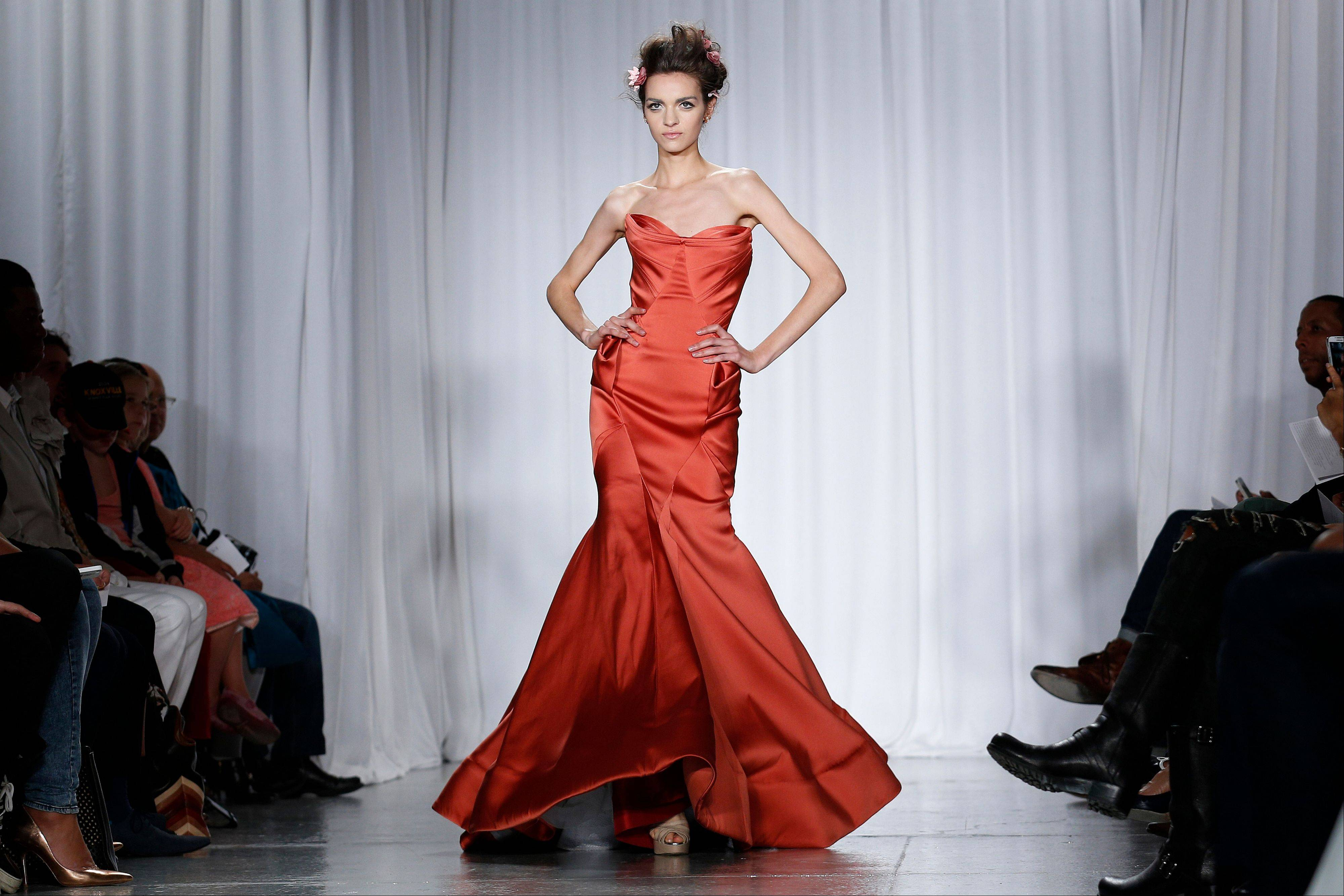 The Zac Posen 2014 collection is modeled during Fashion Week in New York.