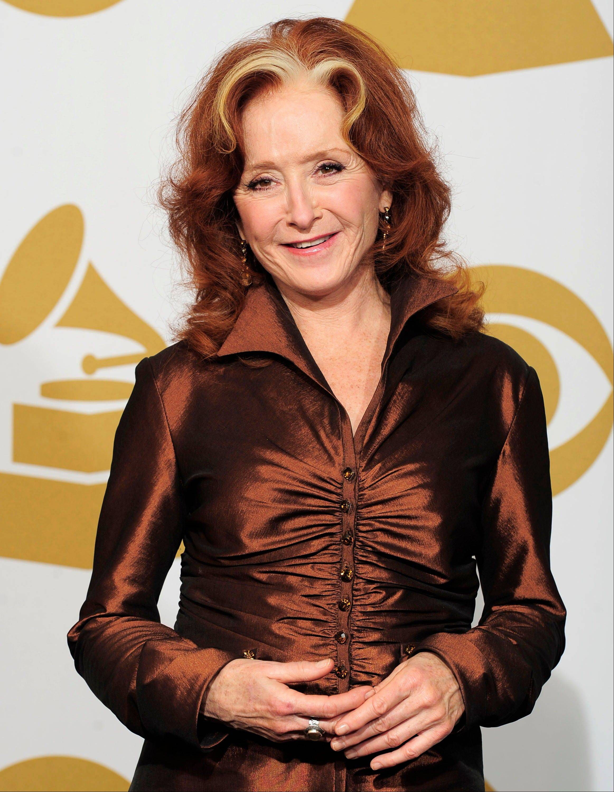 Country star Bonnie Raitt comes to the Rosemont Theatre in October.