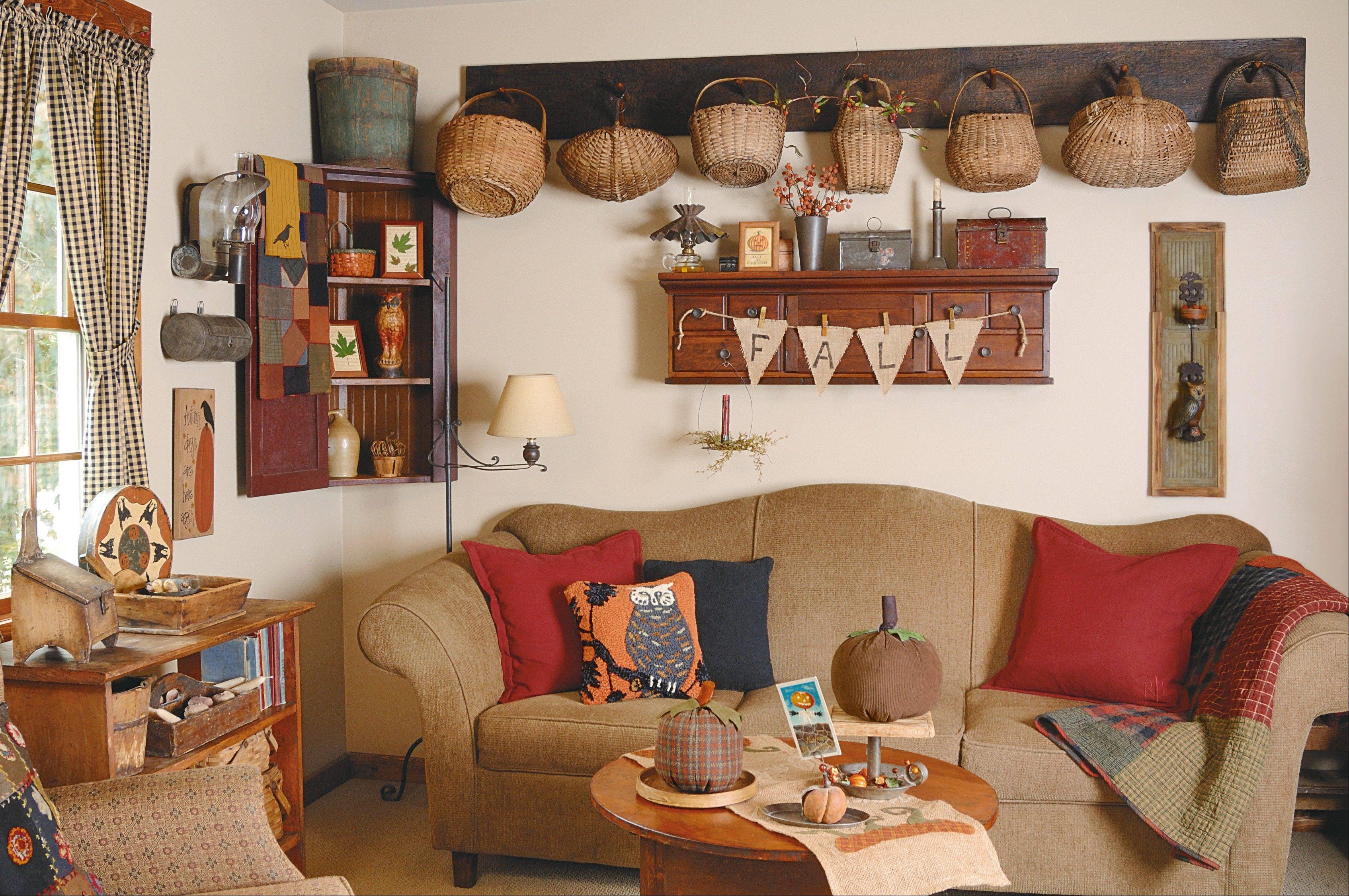 Charmant Best Country Sampler Decorating Ideas Photos Interior Design Ideas