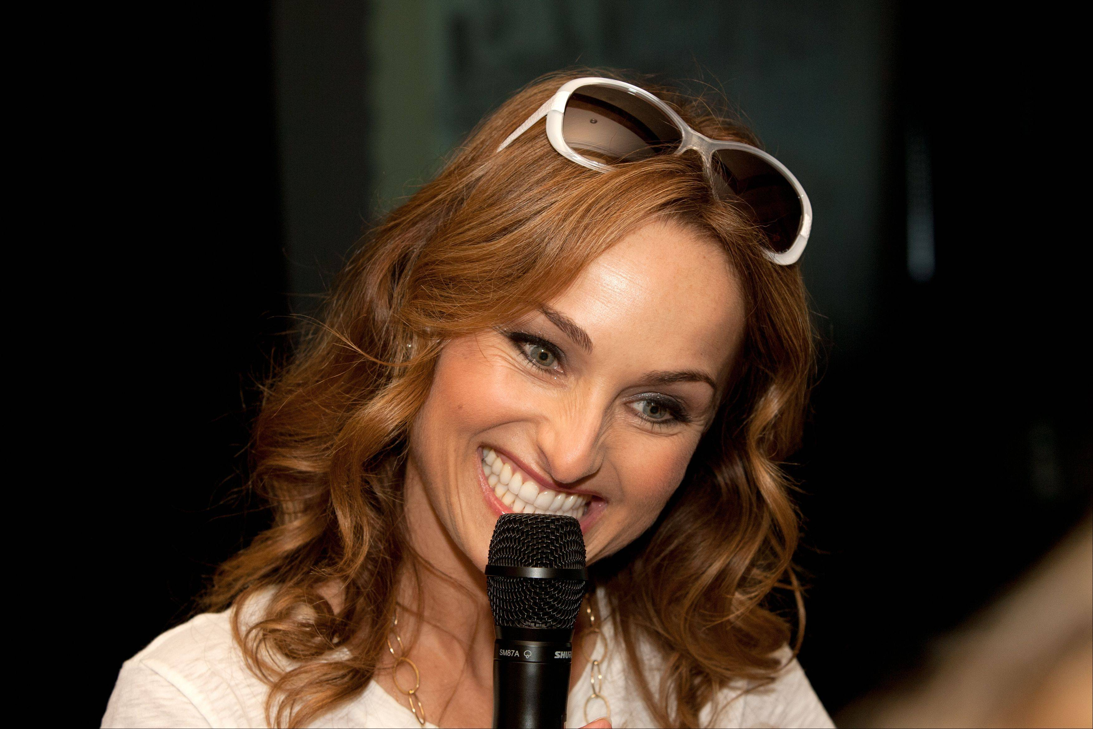 "Food Network star Giada De Laurentiis was in Naperville to discuss her new children's book series ""Recipe for Adventure."""