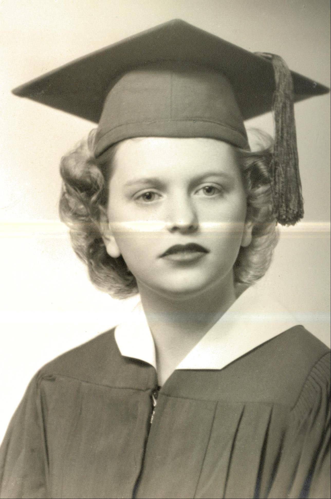 Juil Patricia Wasmond, of Cary, who died Sept. 2, is pictured in this graduation photo from St. Edward High School in Elgin. In 1958, she and her husband, Bob, founded Little Angels, a long-term care facility in Elgin for children and young adults with developmental disabilities and complex medical needs.